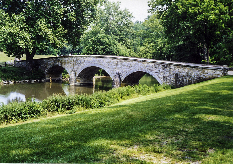 Burnside/'s Bridge after the Battle of Antietam Maryland 8x10 Civil War Photo
