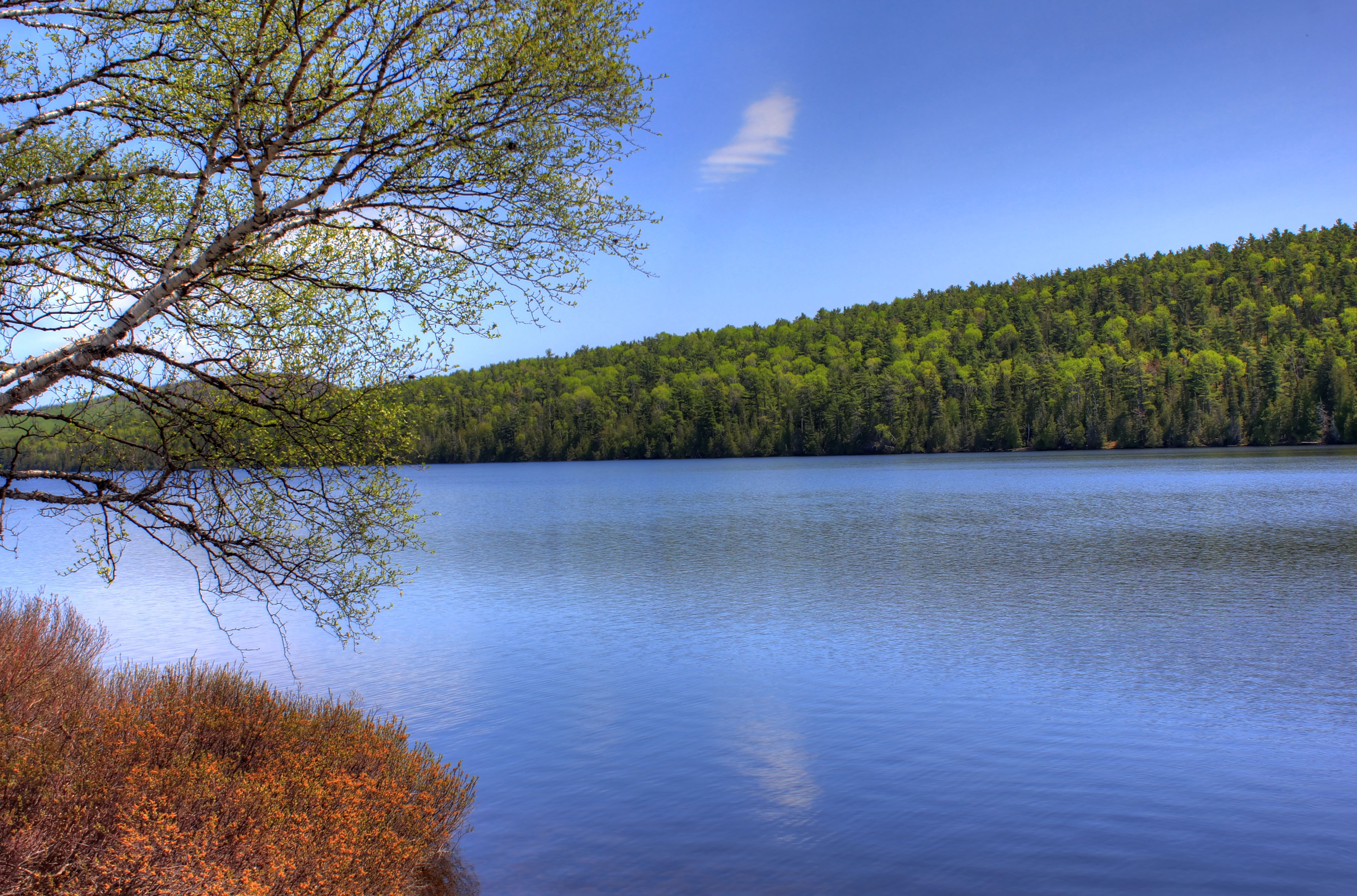 Scenic Lake Photo At Fort Wilkens State Park, Michigan