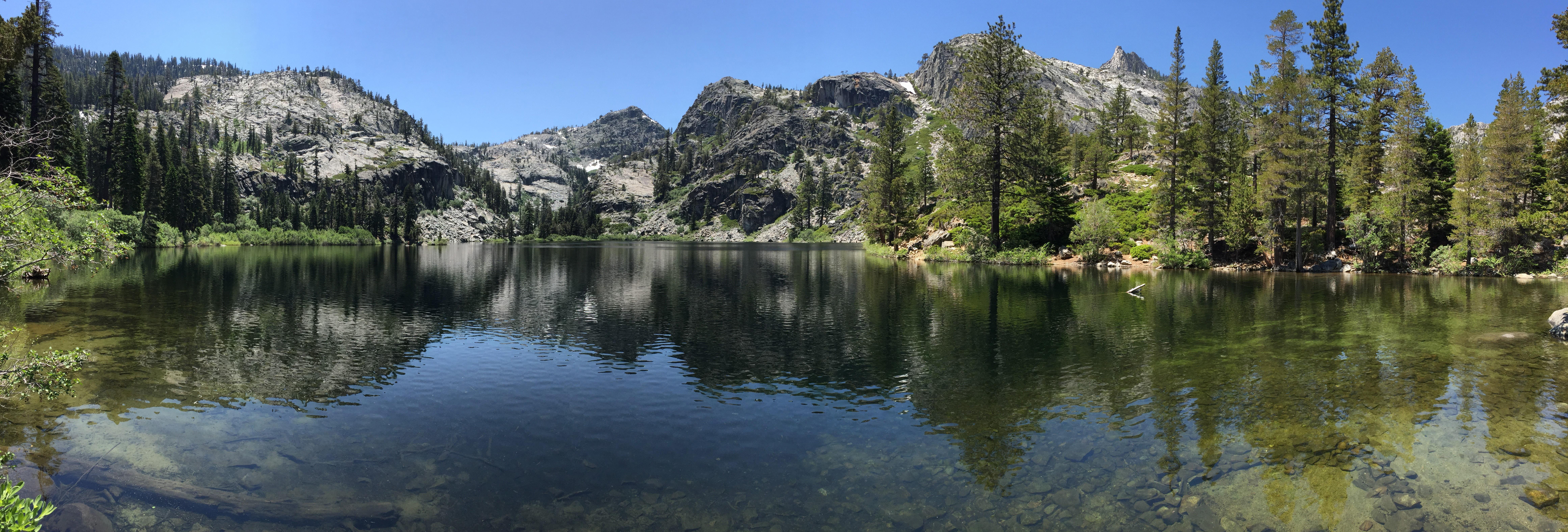 Beautiful Lake Tahoe Landscape And Lake Image