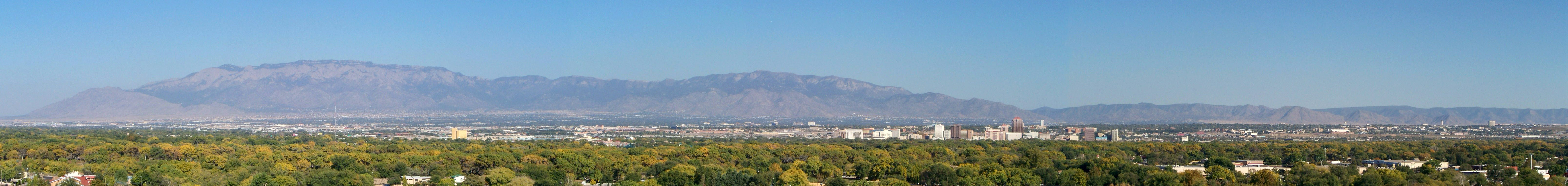 Panoramic View Of Albuquerque New Mexico Image Free