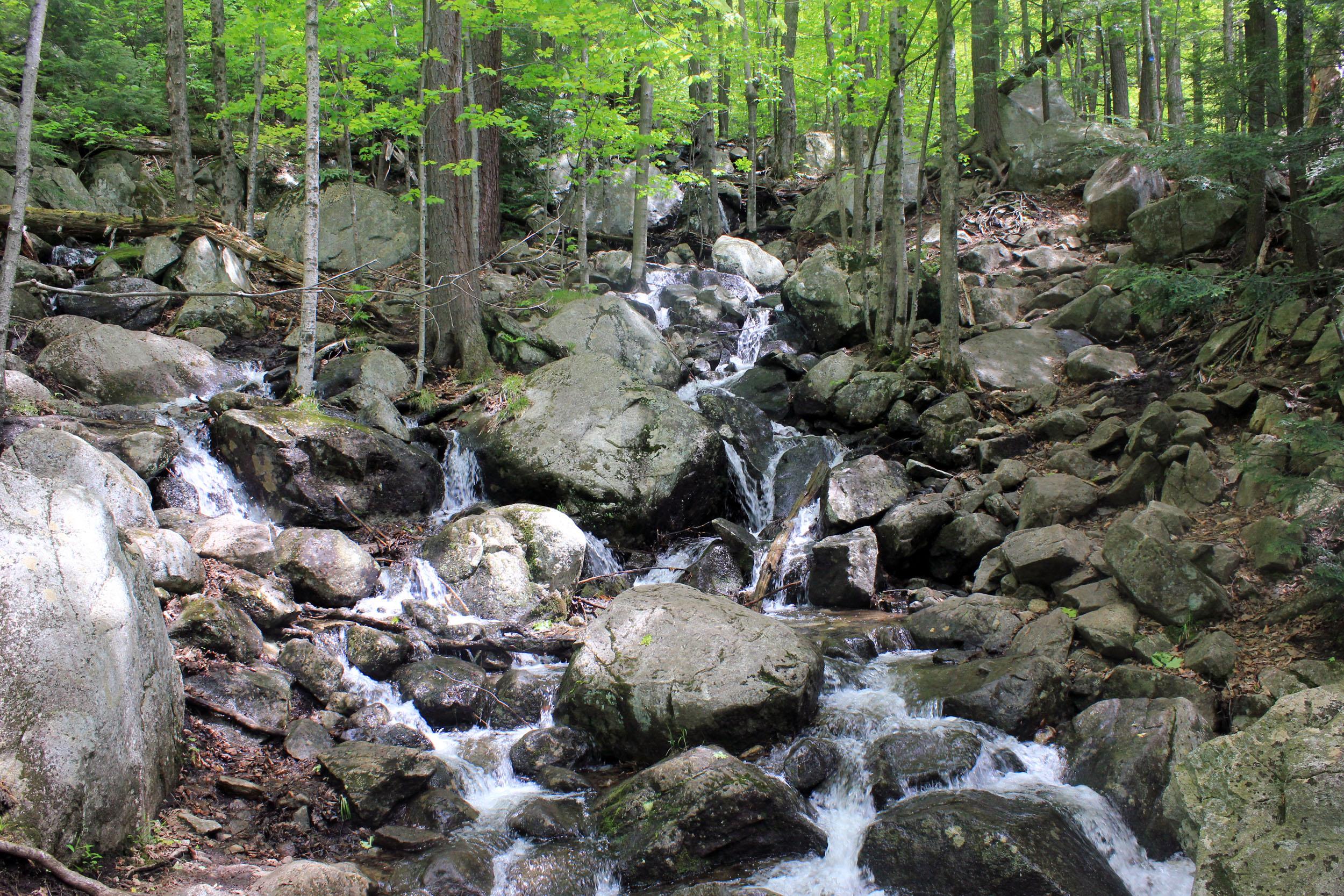 Frozen Waterfall, Adirondack Mountains - New York
