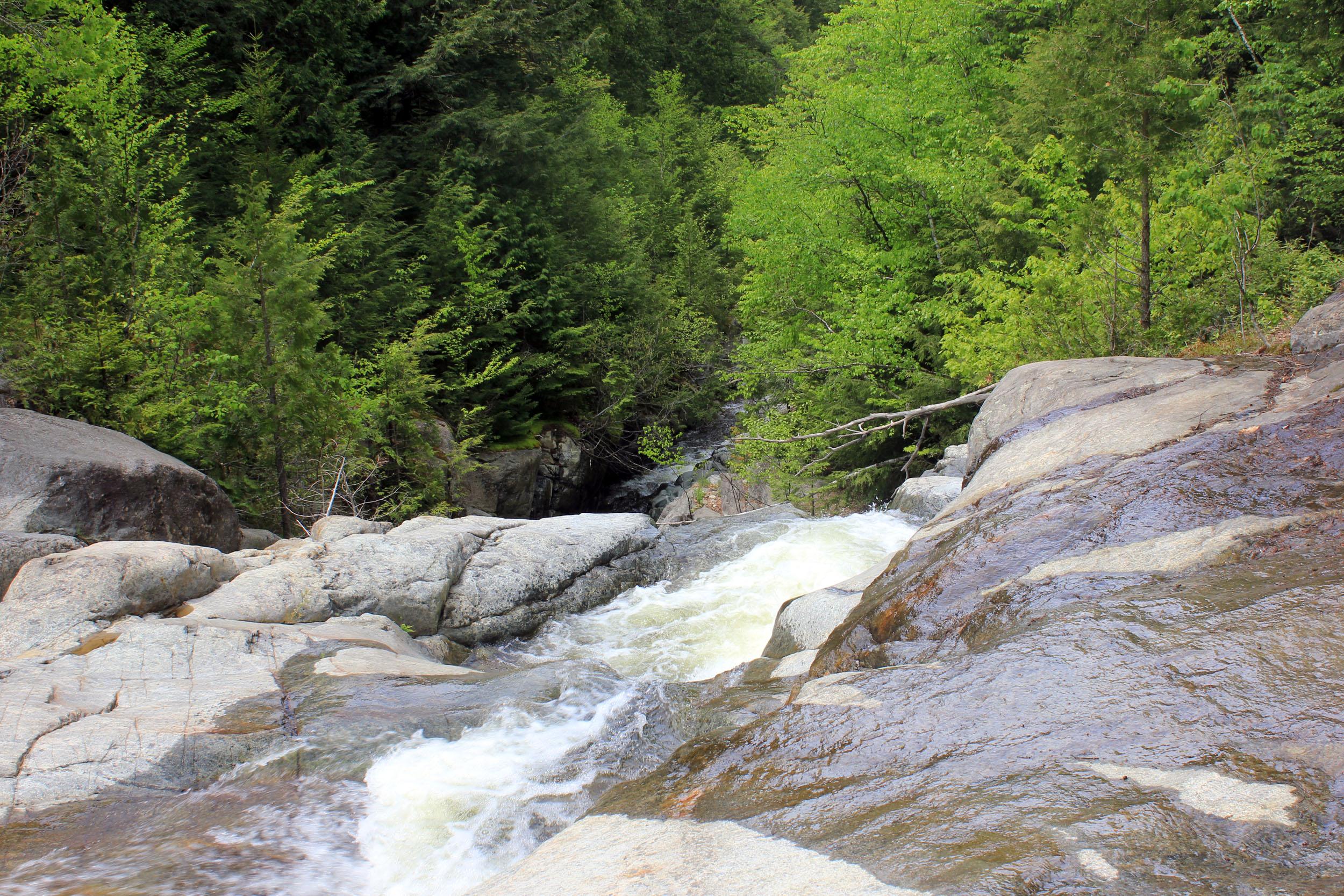 High Falls Gorge in Adirondack Mountains, New York #