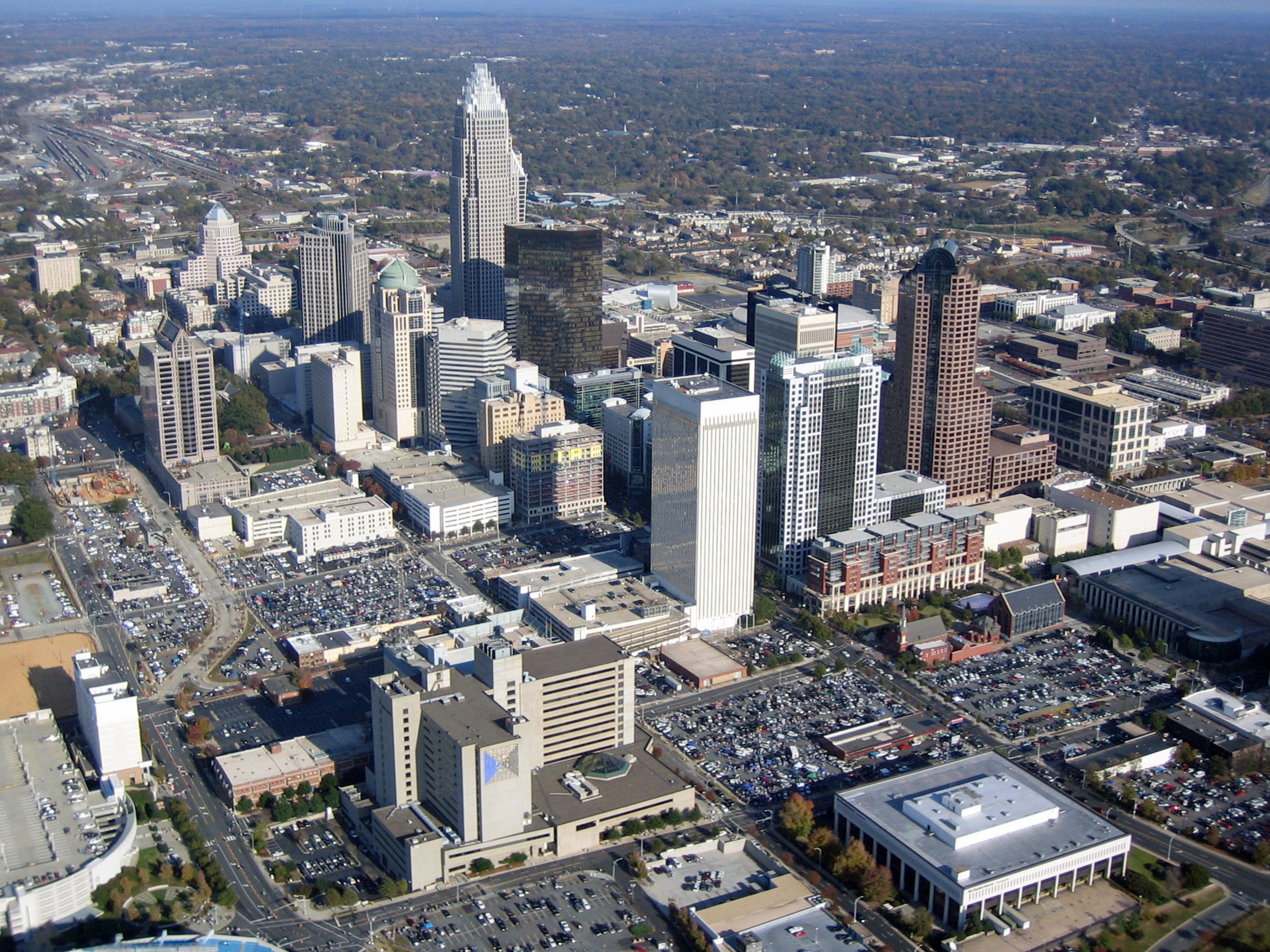 Free Stock Photo Of Cityscape View Of Charlotte North Carolina Public Domain Photo Cc0 Images