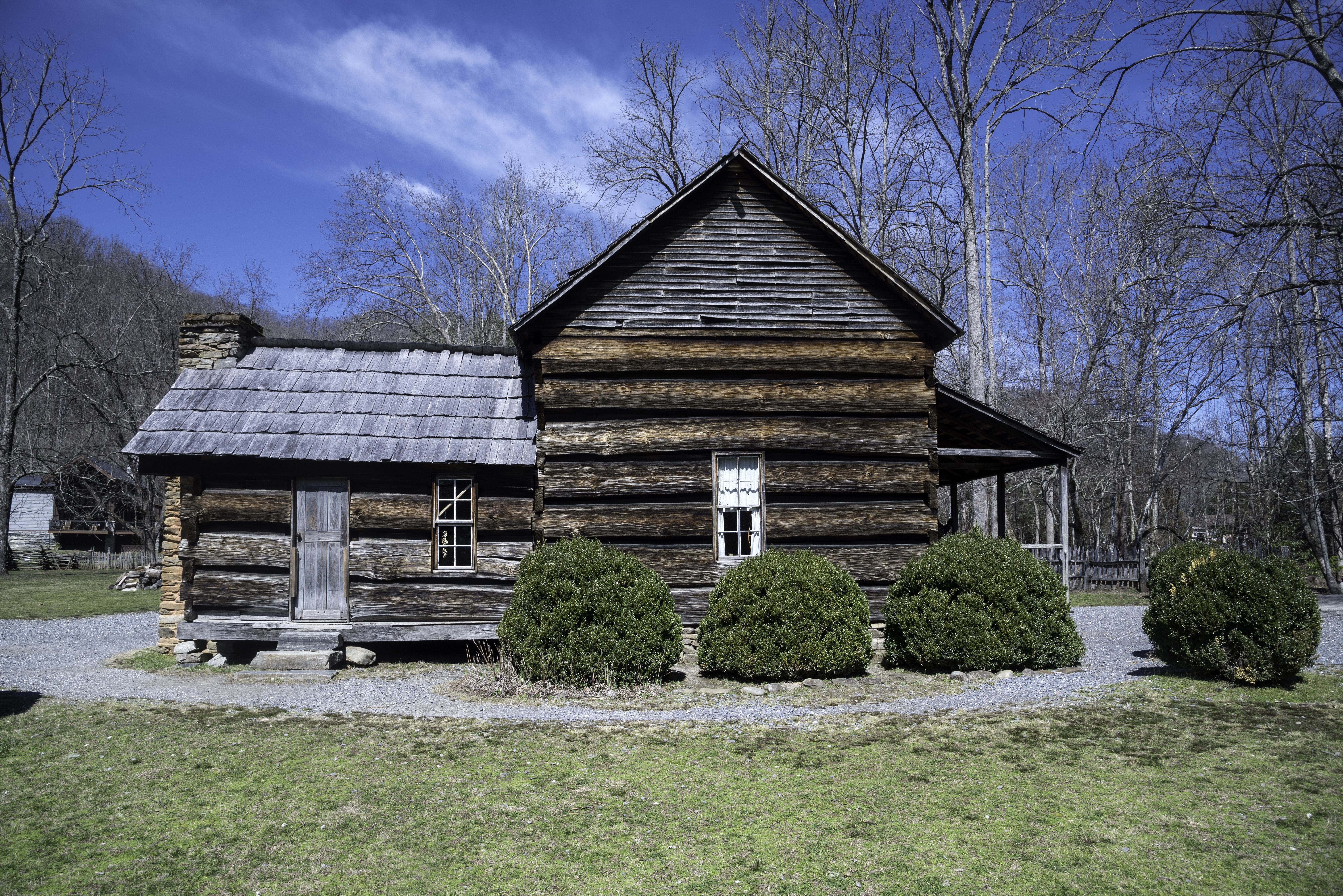national cabin cabins john stock mountains great smoky mountain photo oliver cades park usa tennessee cove