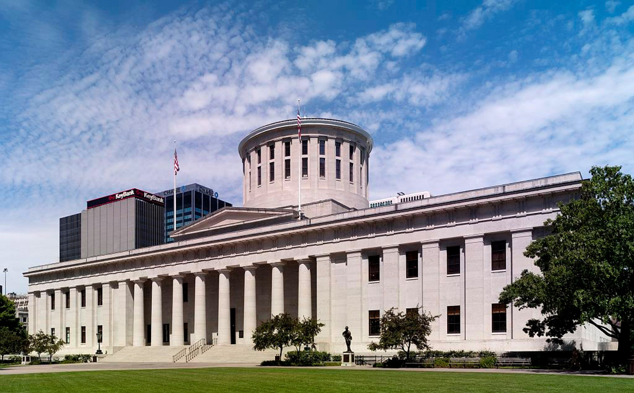 Ohio state capital building in columbus image free stock for Columbus capitale