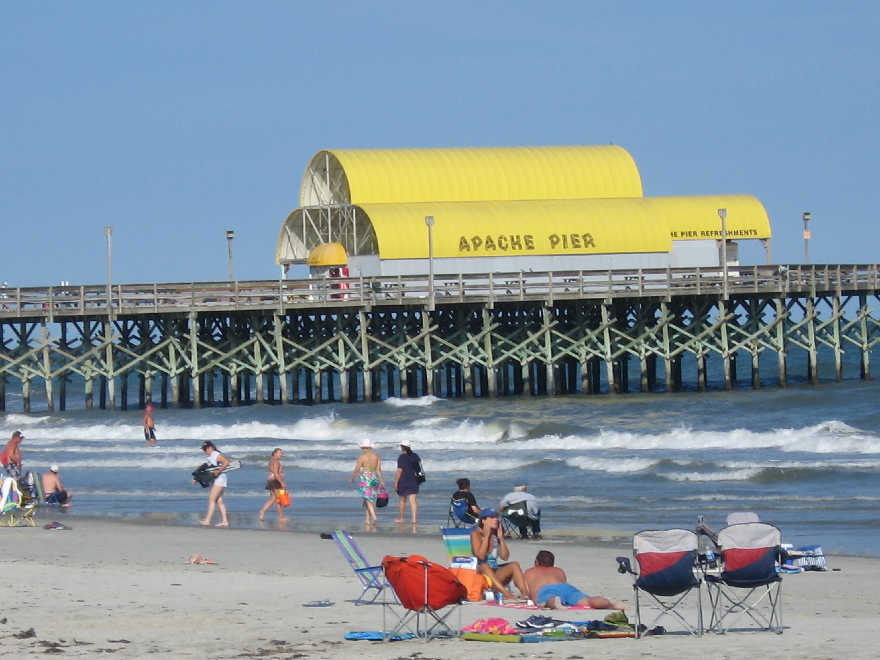Free Photos Usa South Carolina Myrtle Beach Apache Pier