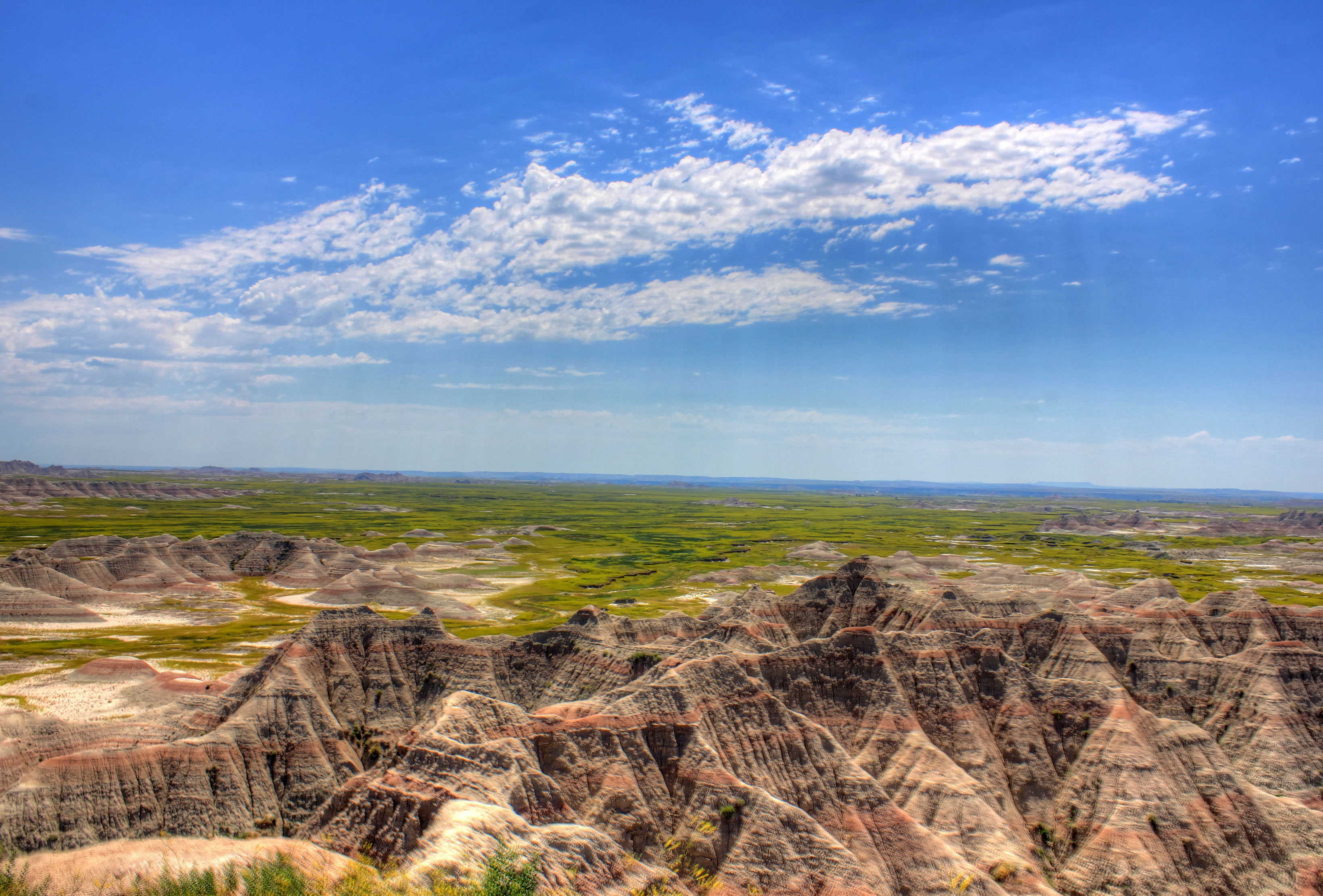 Hills and Buttes of the Badlands