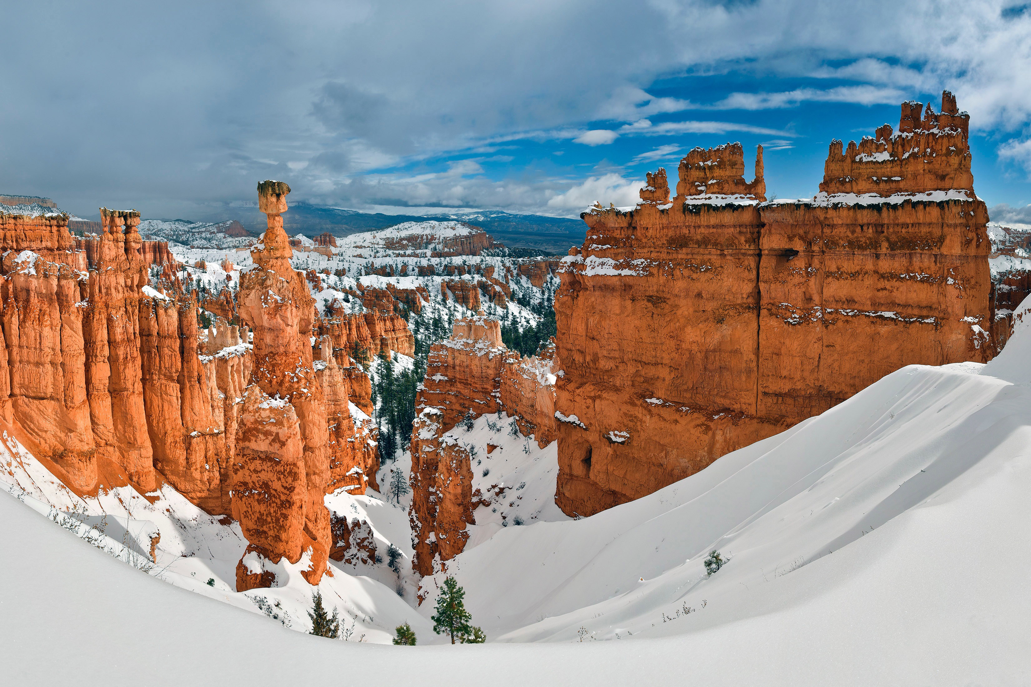 winter landscape with thor s hammer in bryce canyon travel clipart pic travel clip art for gift certificate