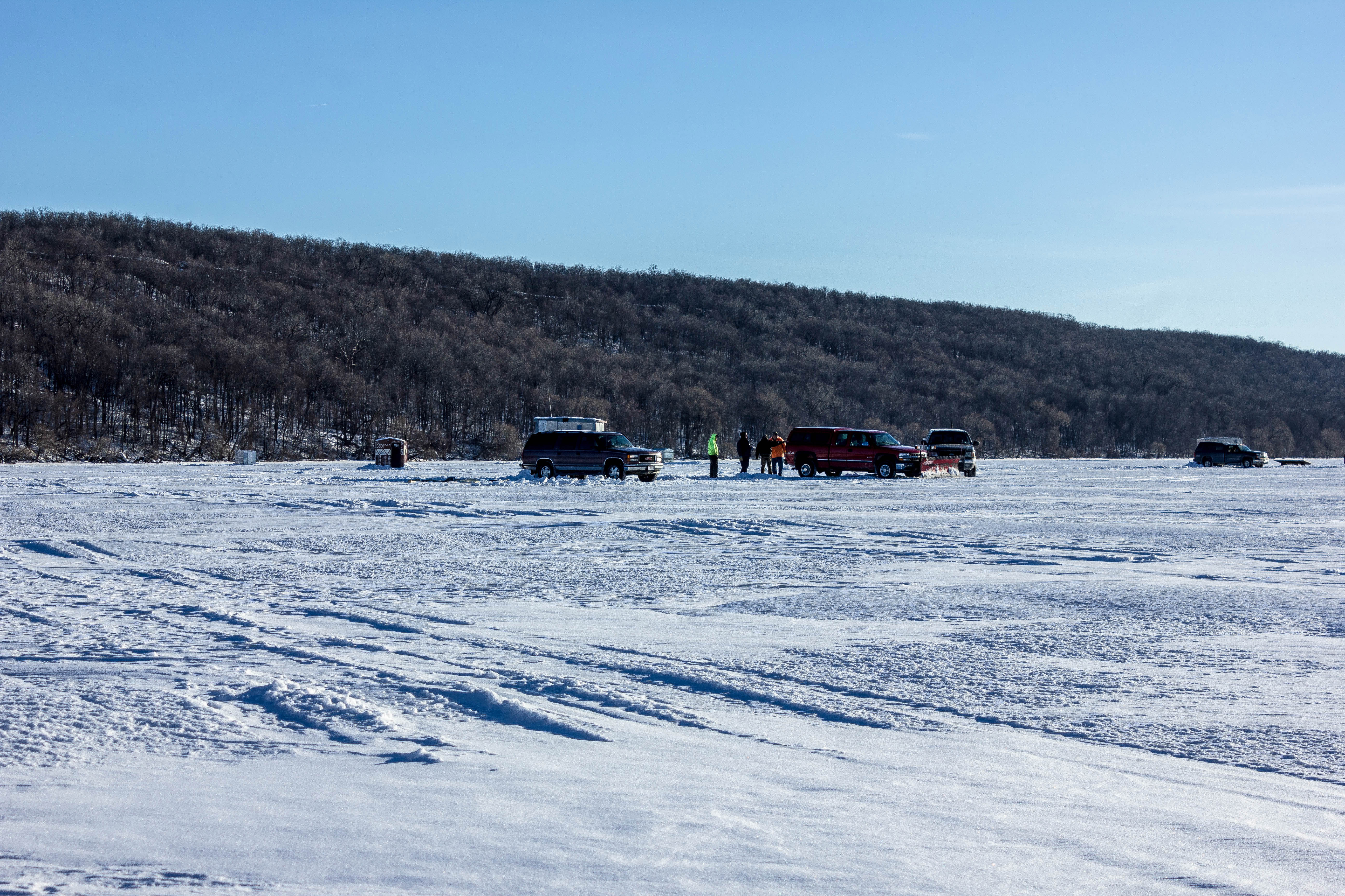 High cliff state park for Wisconsin out of state fishing license