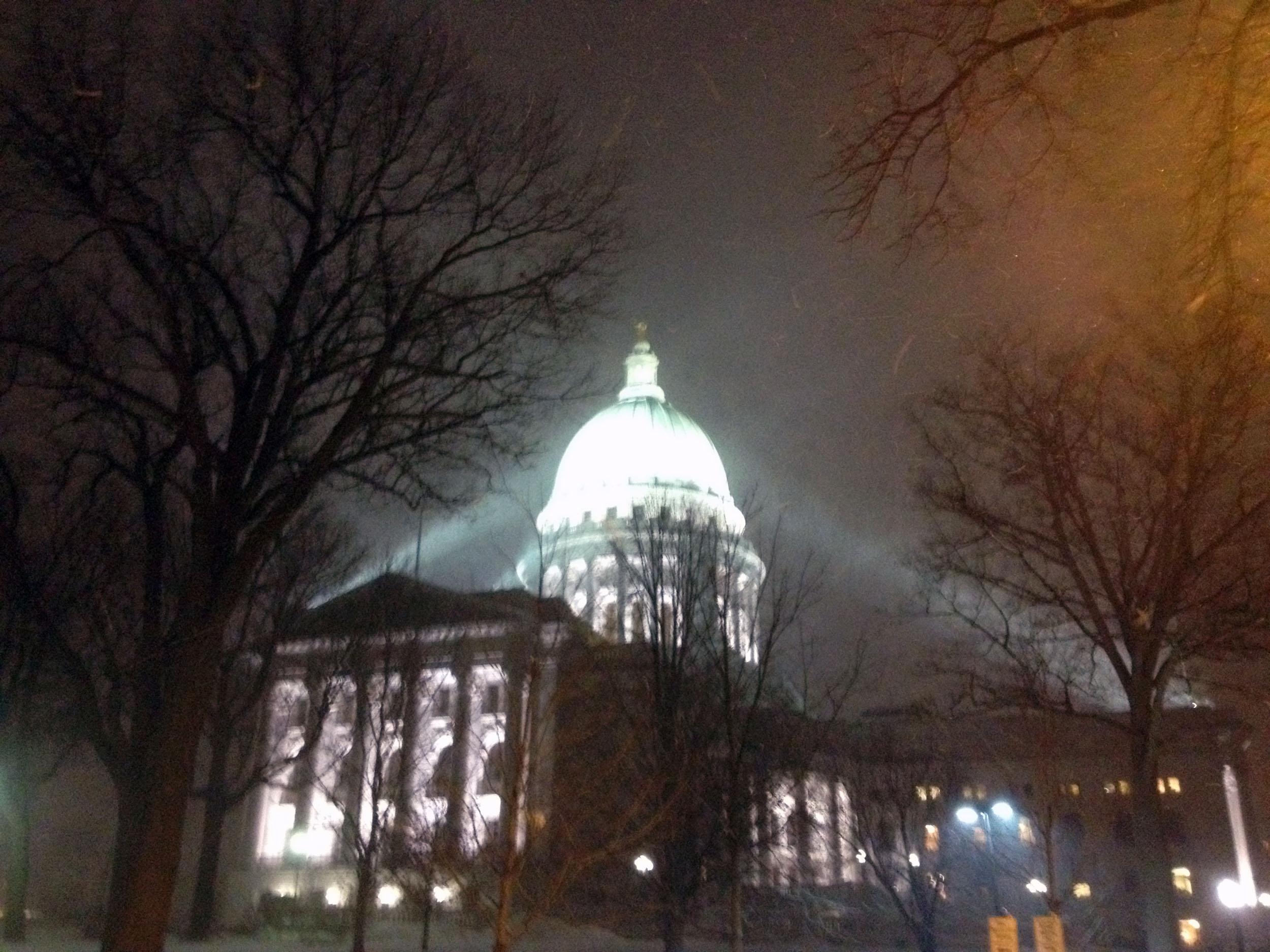 Snowstorm on the Capitol