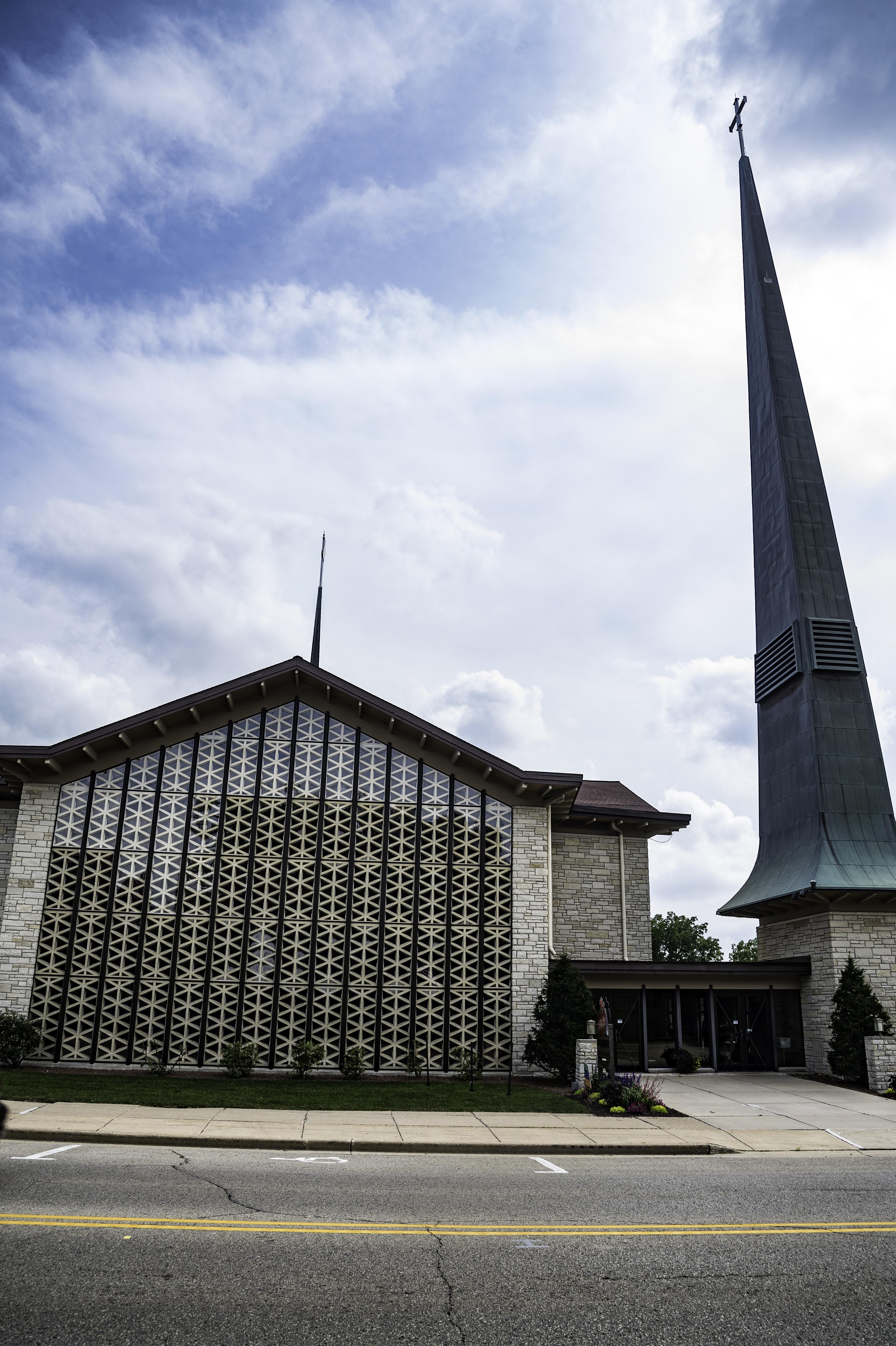 Large Image For Asclepias Incarnata Swamp Milkweed: Large Church In Mount Horeb Image