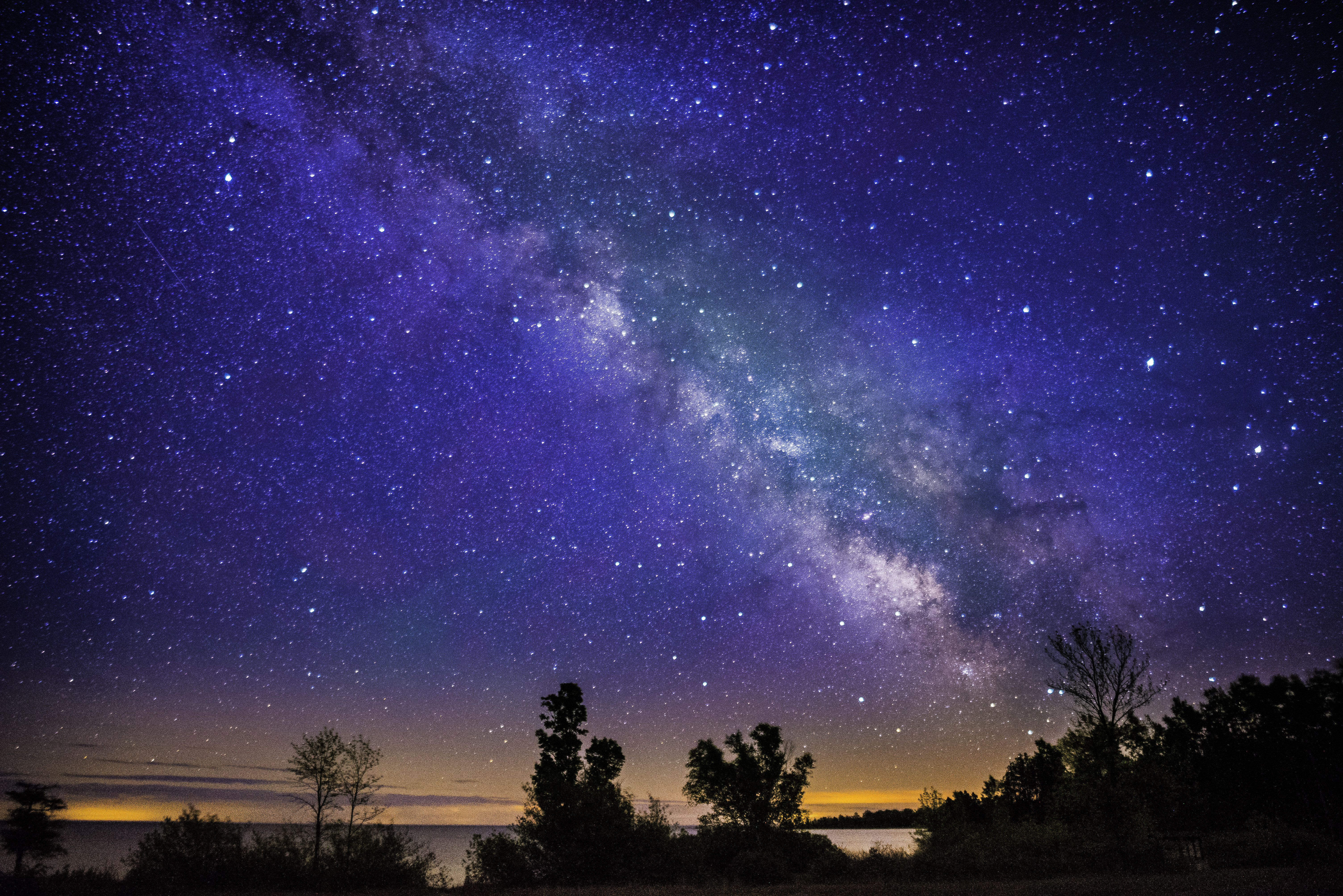 Landscape at night and the Milky Way image - Free stock photo ... on nature photography, natural landscape, marine art, landscape ecology, landscape planning, cultural landscape, garden design, landscape photography, landscape art, landscape design, physical geography,
