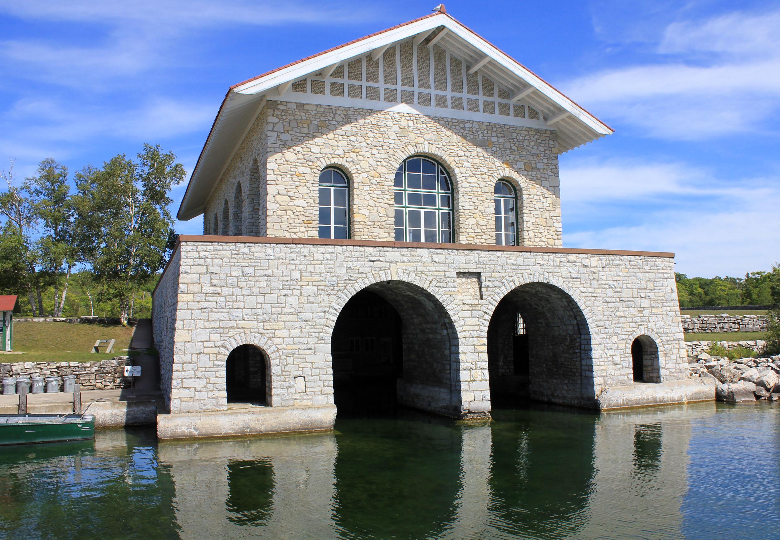 Rock Island Boat House