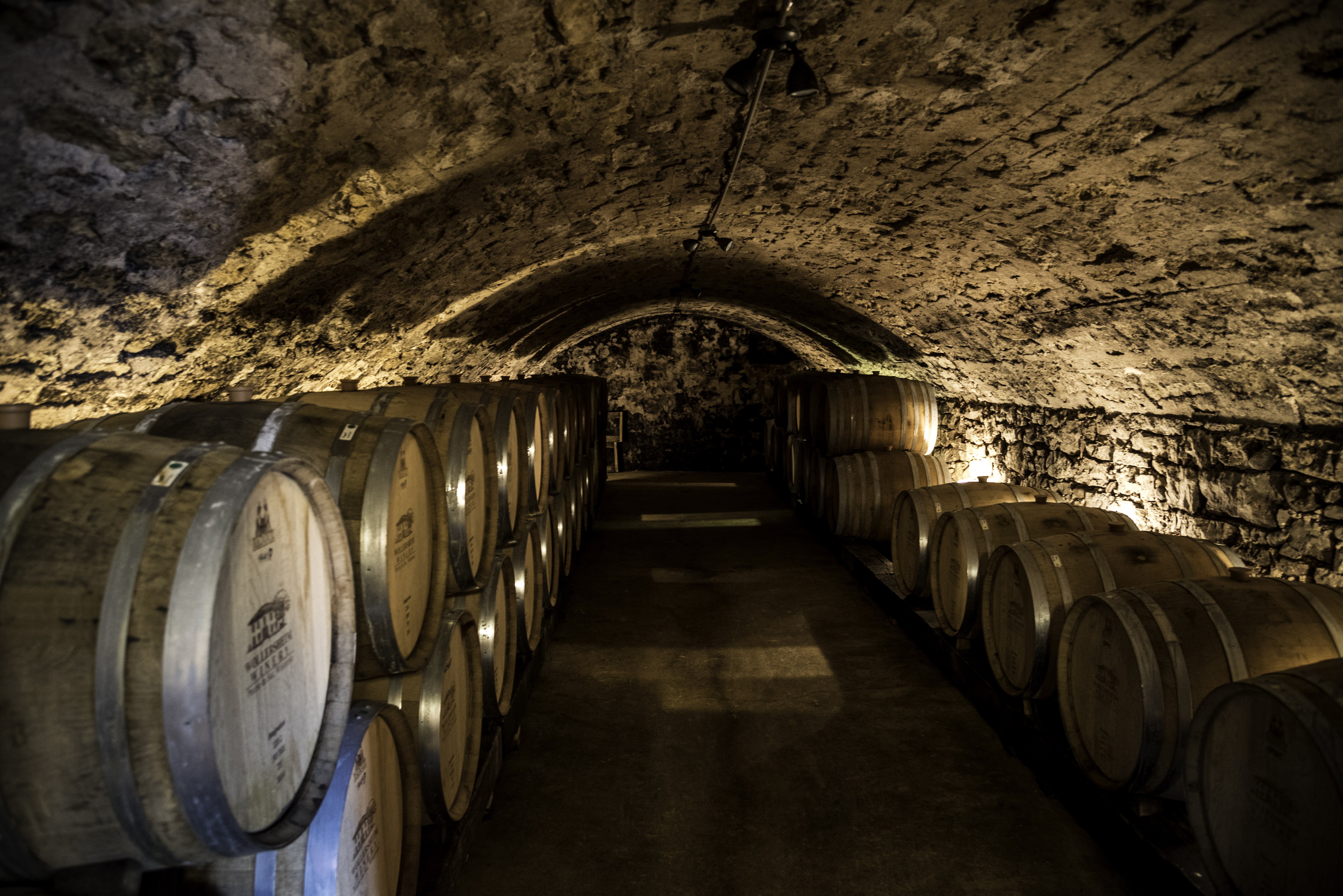 Wine Aging Room At Wollersheim Winery Wisconsin Image