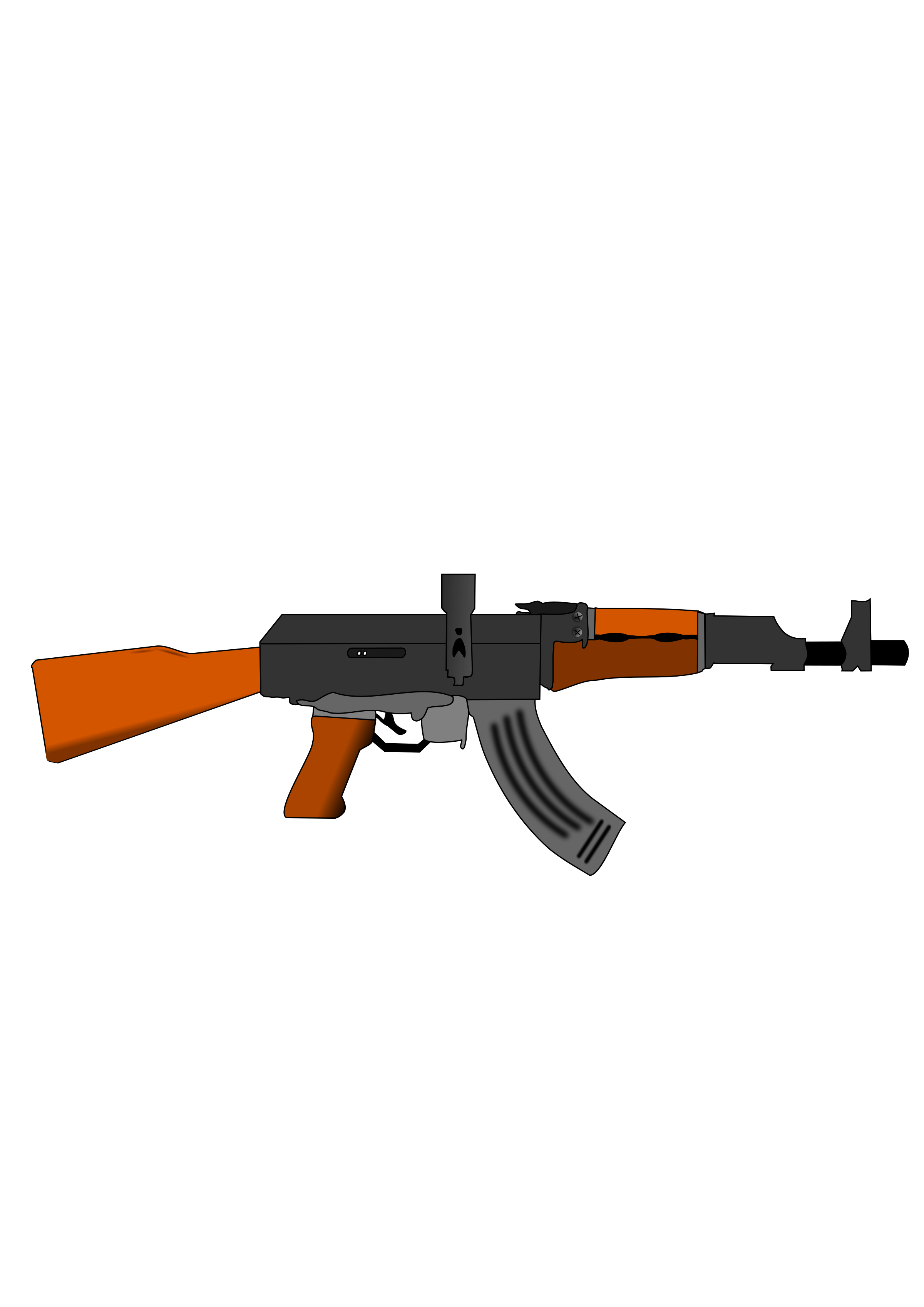 ak 47 gun vector clipart image free stock photo public domain rh goodfreephotos com  ak 47 bullet clipart