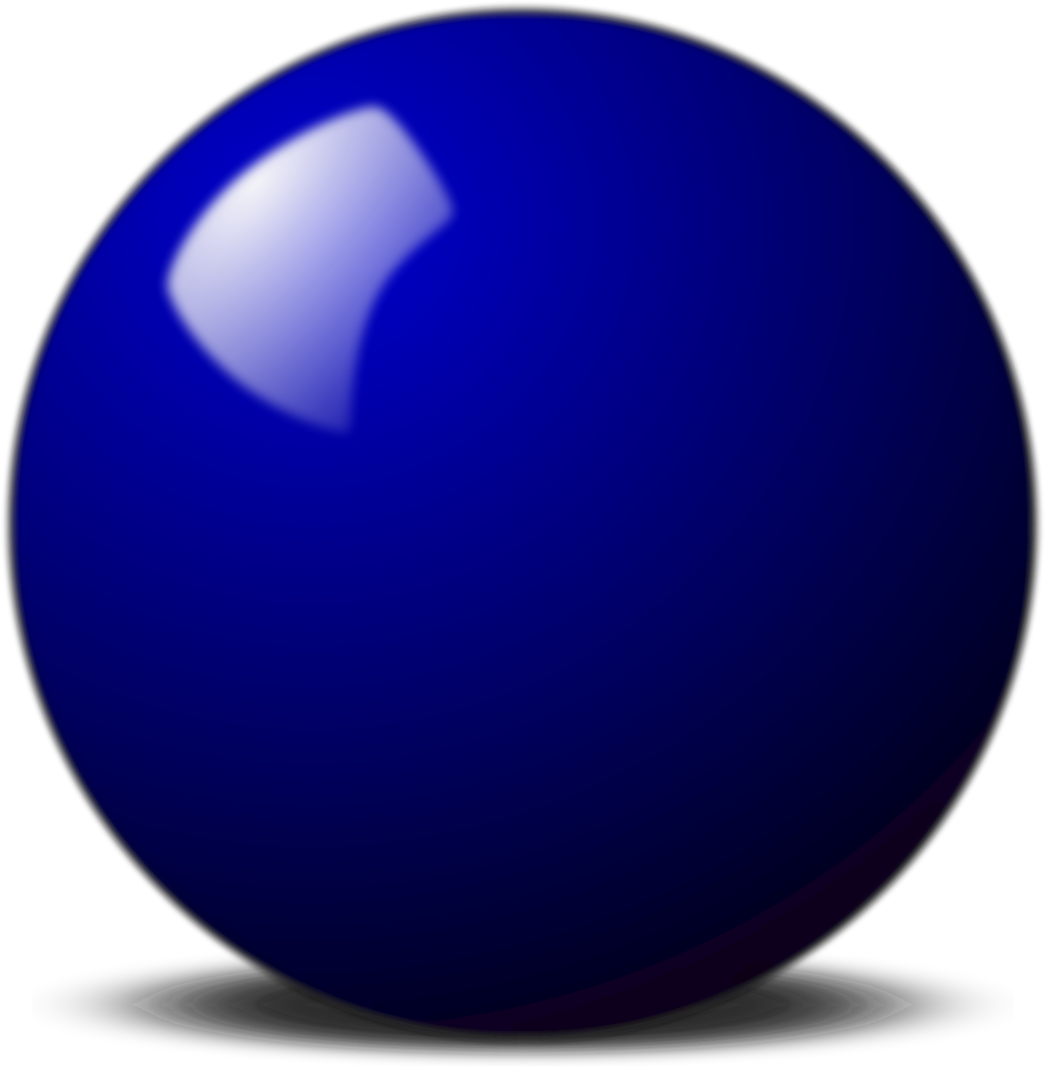 Blue snooker ball vector clipart image free stock photo - Ball image download ...