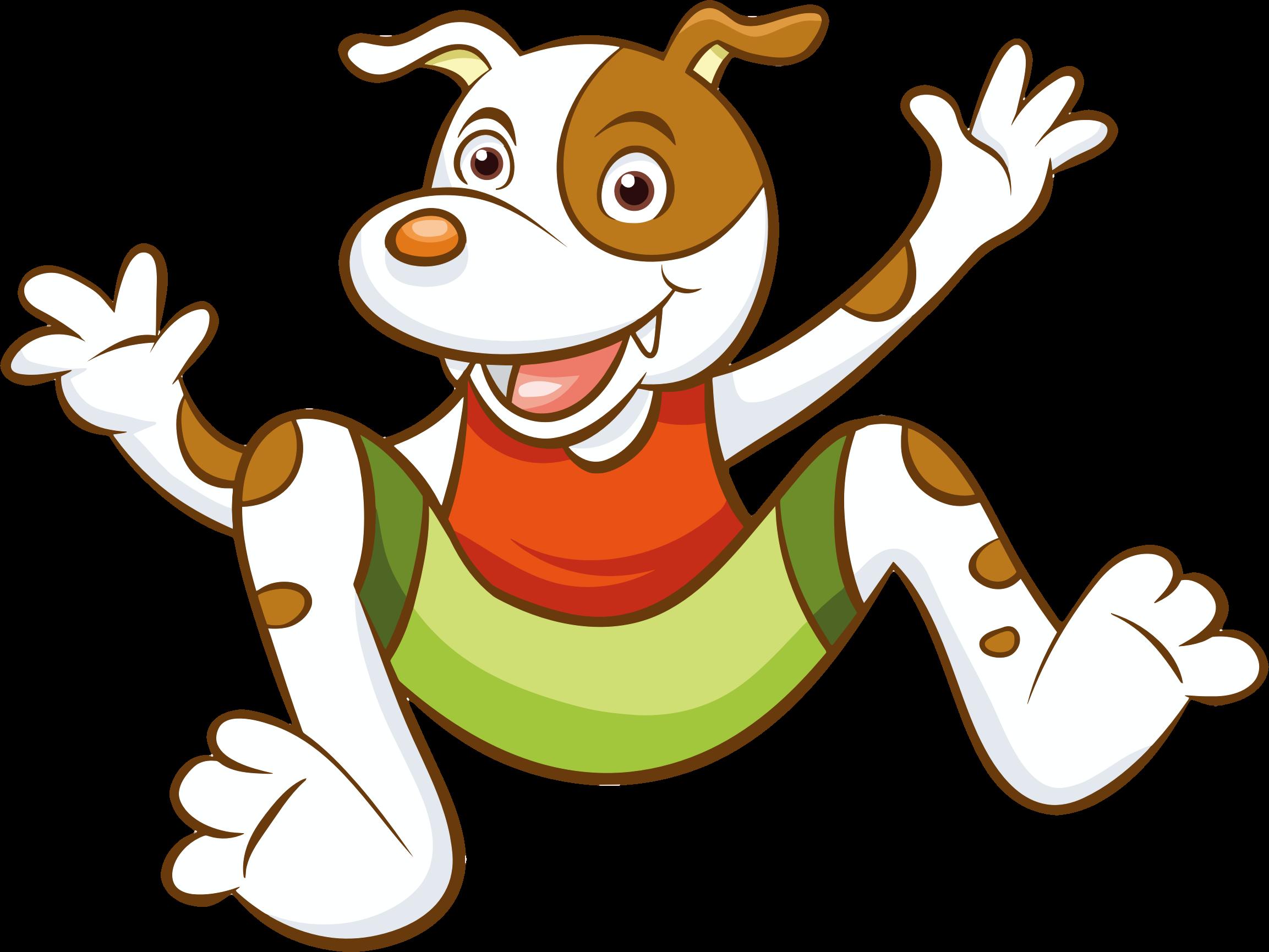 Cartoon Dog Vector File image - Free stock photo - Public ...