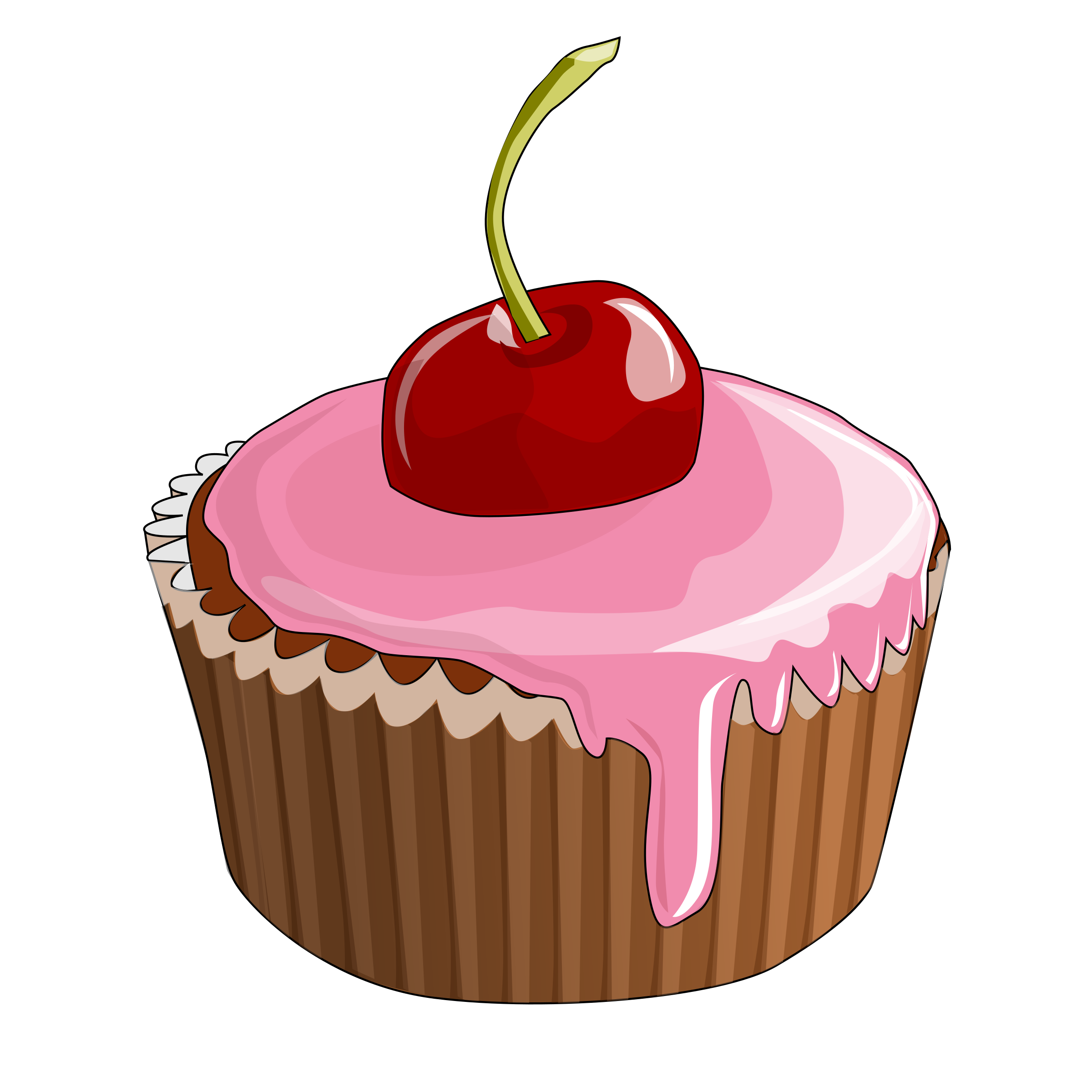 cherry cupcake vector clipart image free stock photo public rh goodfreephotos com cupcake vector freepik cupcake vector free