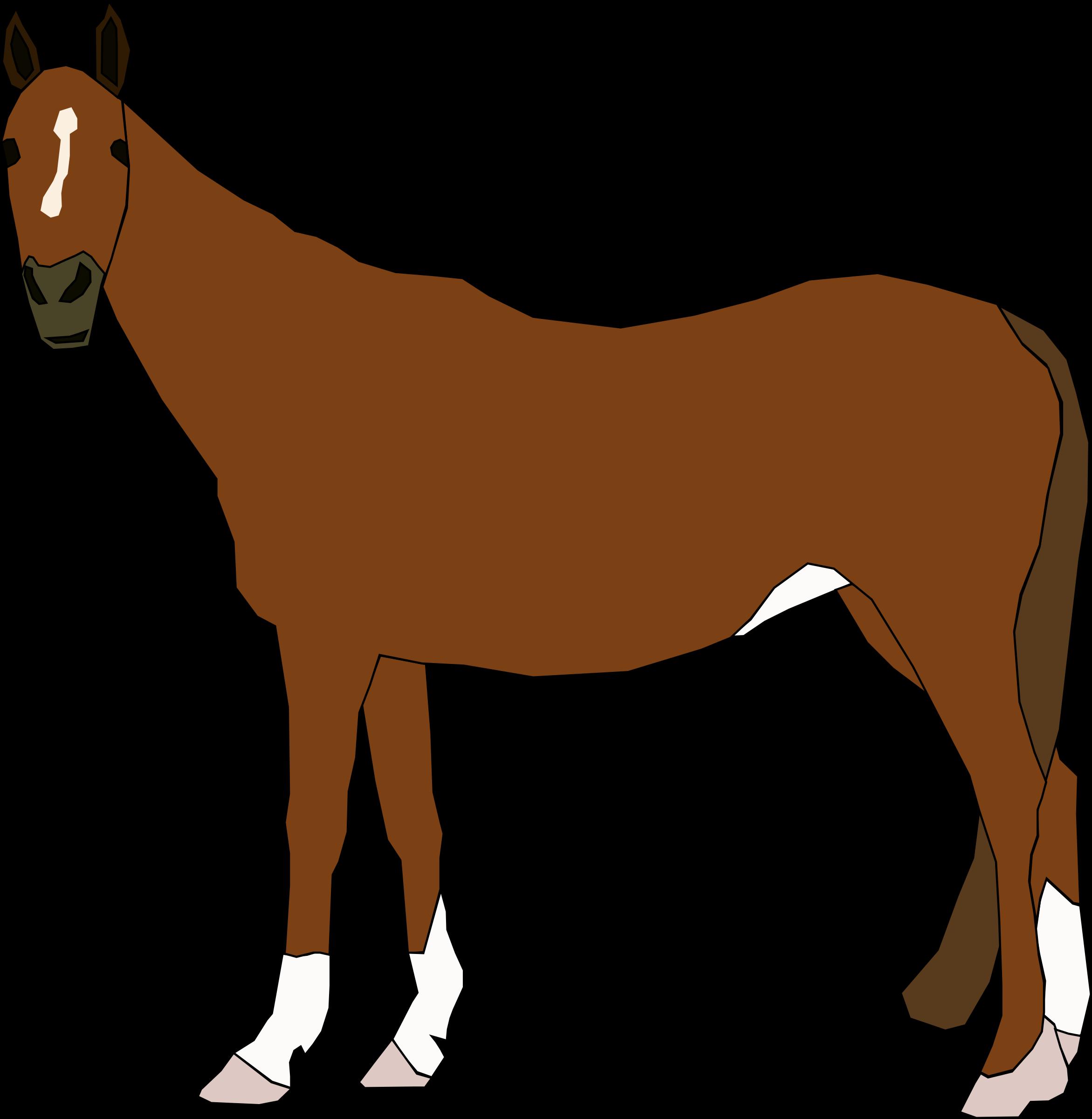 chestnut horse vector clipart image free stock photo public rh goodfreephotos com horse vector art horse vector art pack