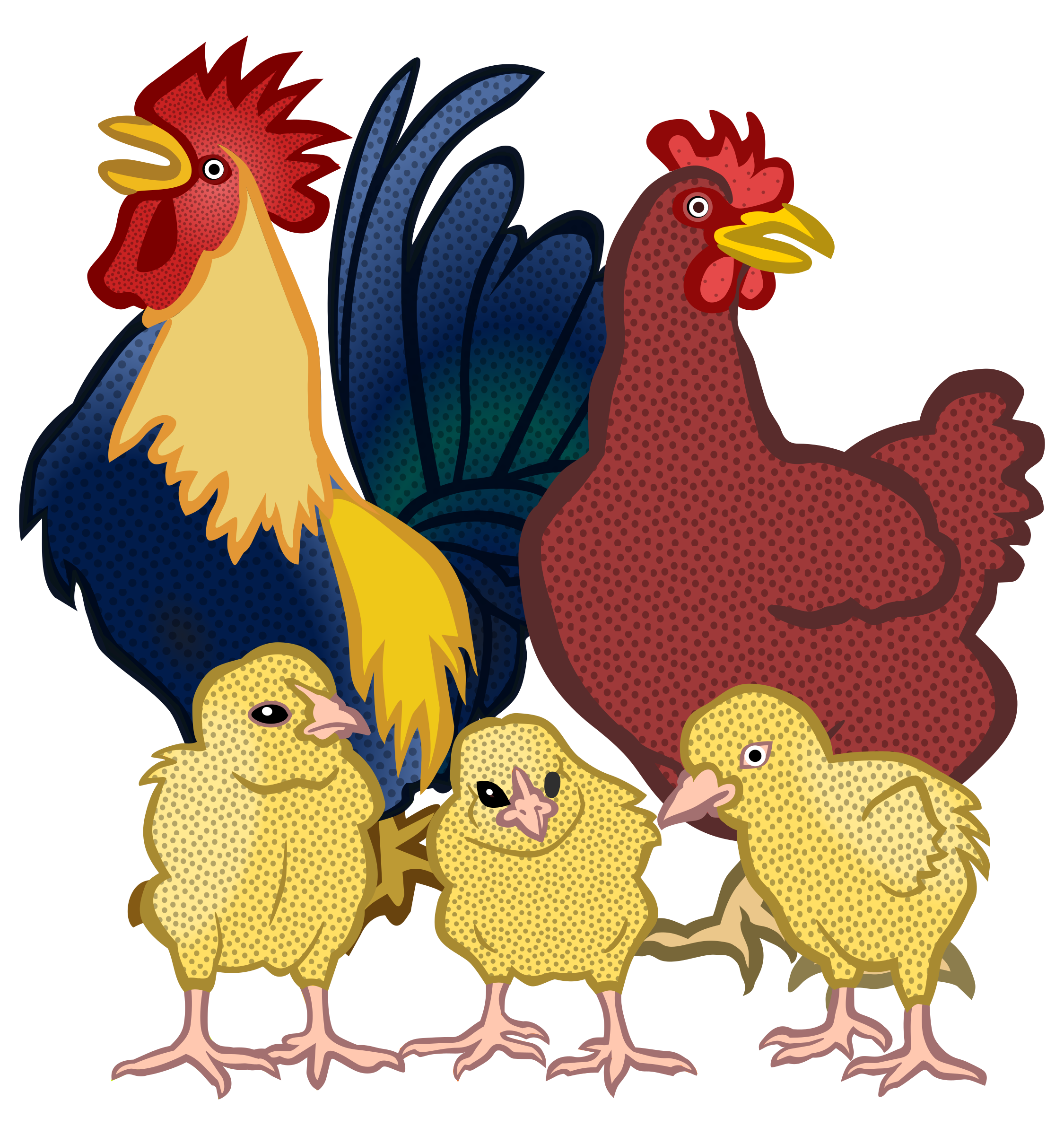chickens vector clipart image free stock photo public domain rh goodfreephotos com dead chicken pictures clip art chicken salad pictures clip art