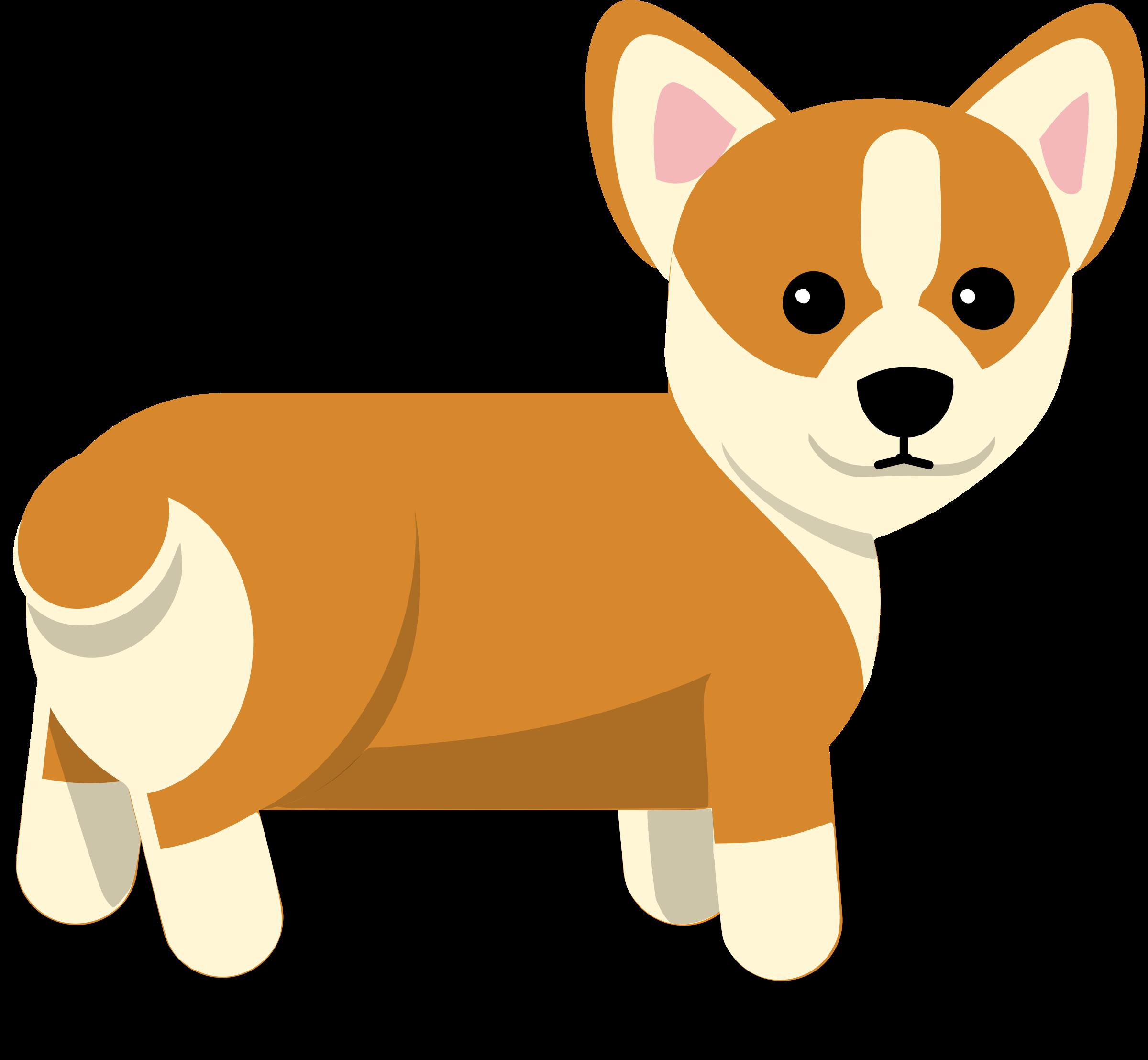 Corgi Dog Vector Clipart image - Free stock photo - Public ... (2400 x 2215 Pixel)