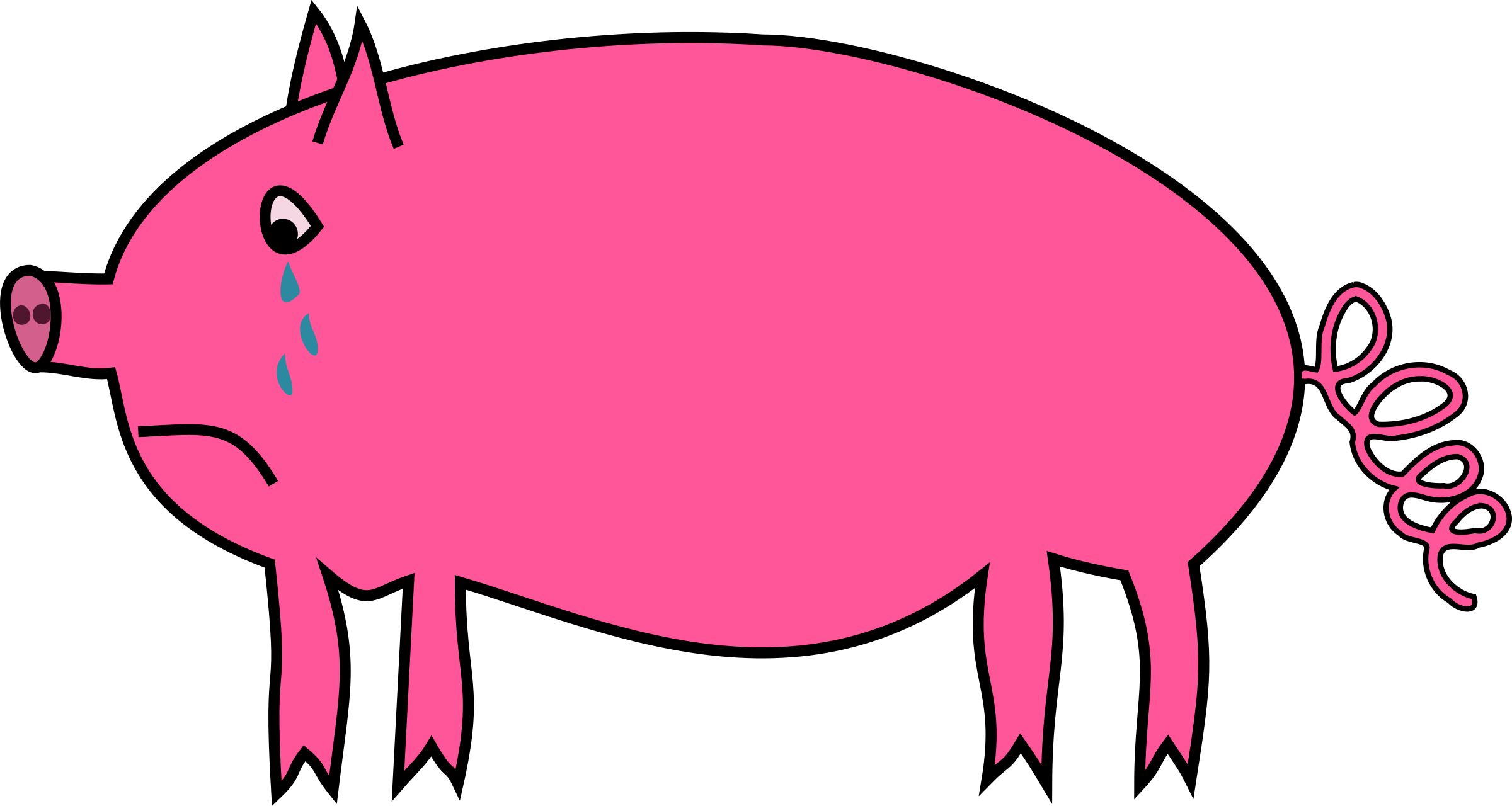 clip art funny pigs - photo #39
