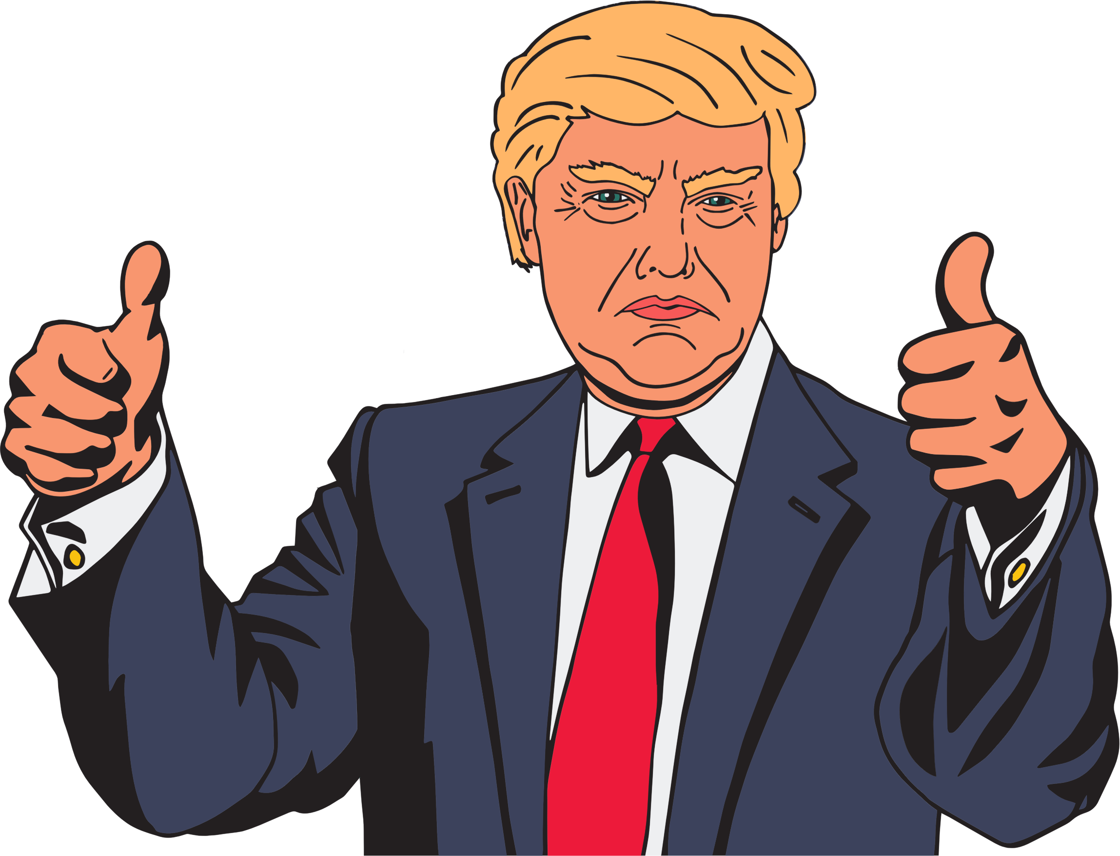 Image result for donald trump free clip art