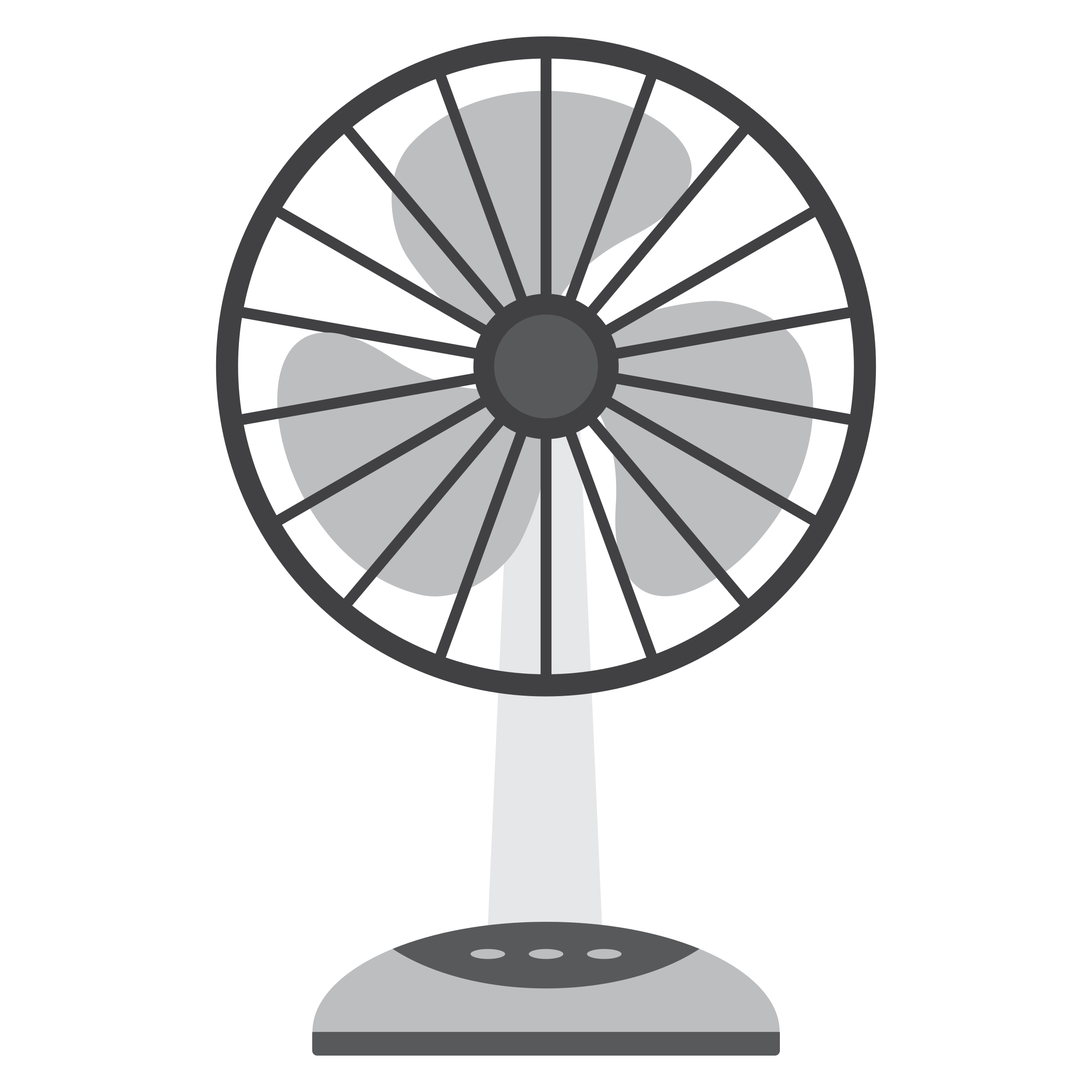 Electric Fan Clip Art : Electric fan vector clipart image free stock photo