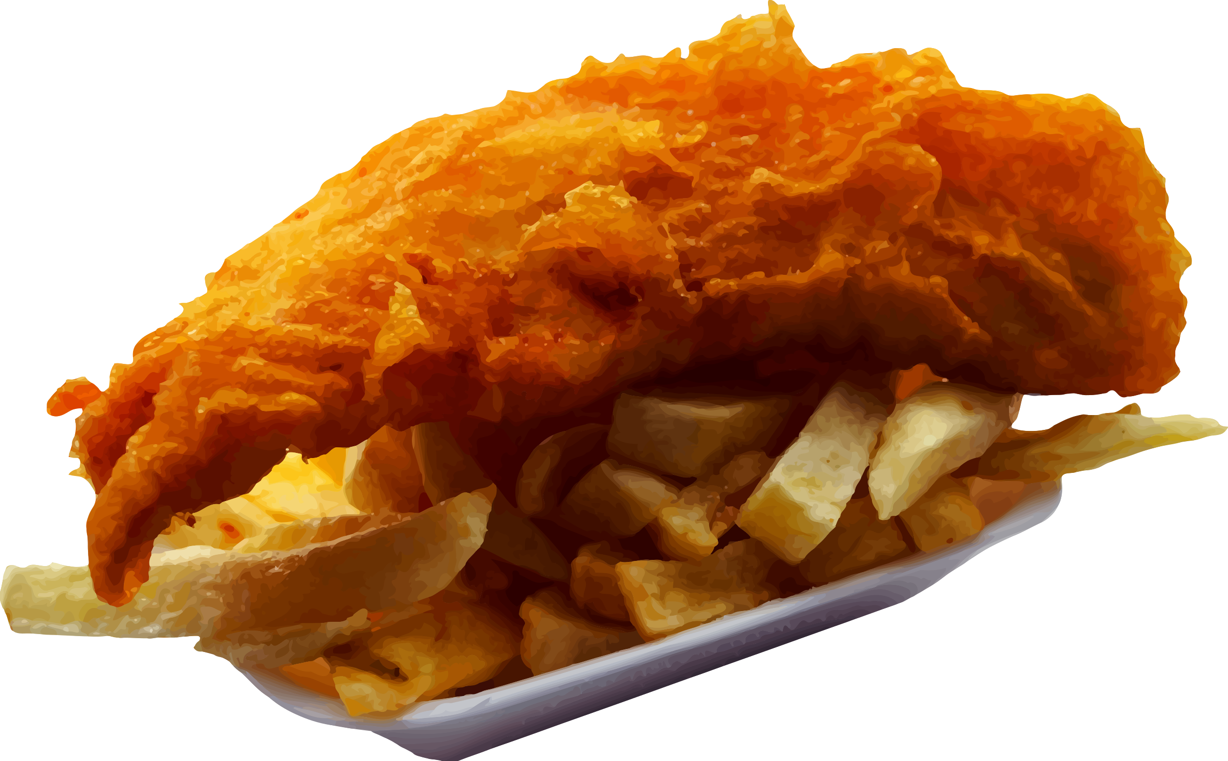 fish and chips clipart - photo #5