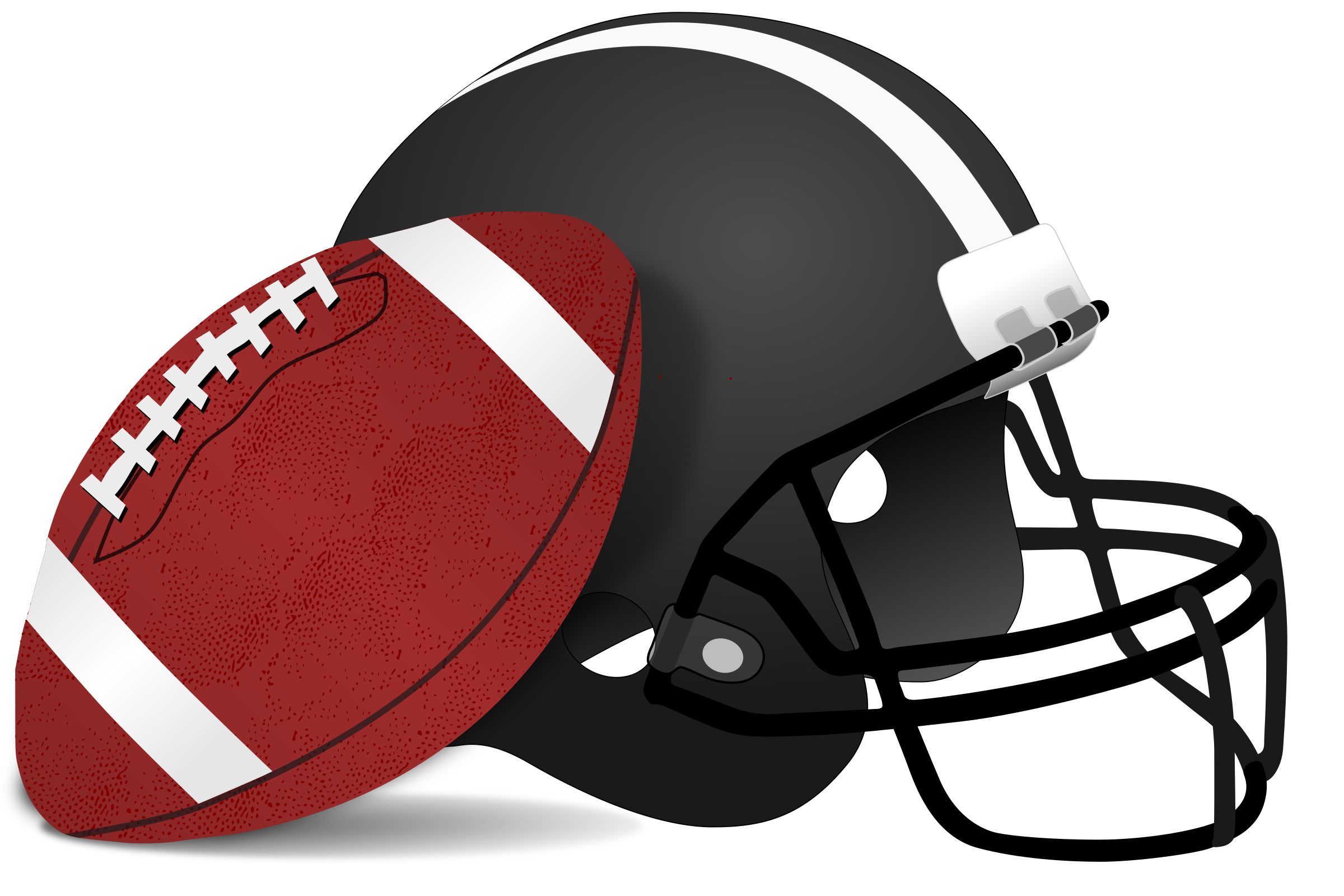 Football and Helmet vector file image - Free stock photo ...