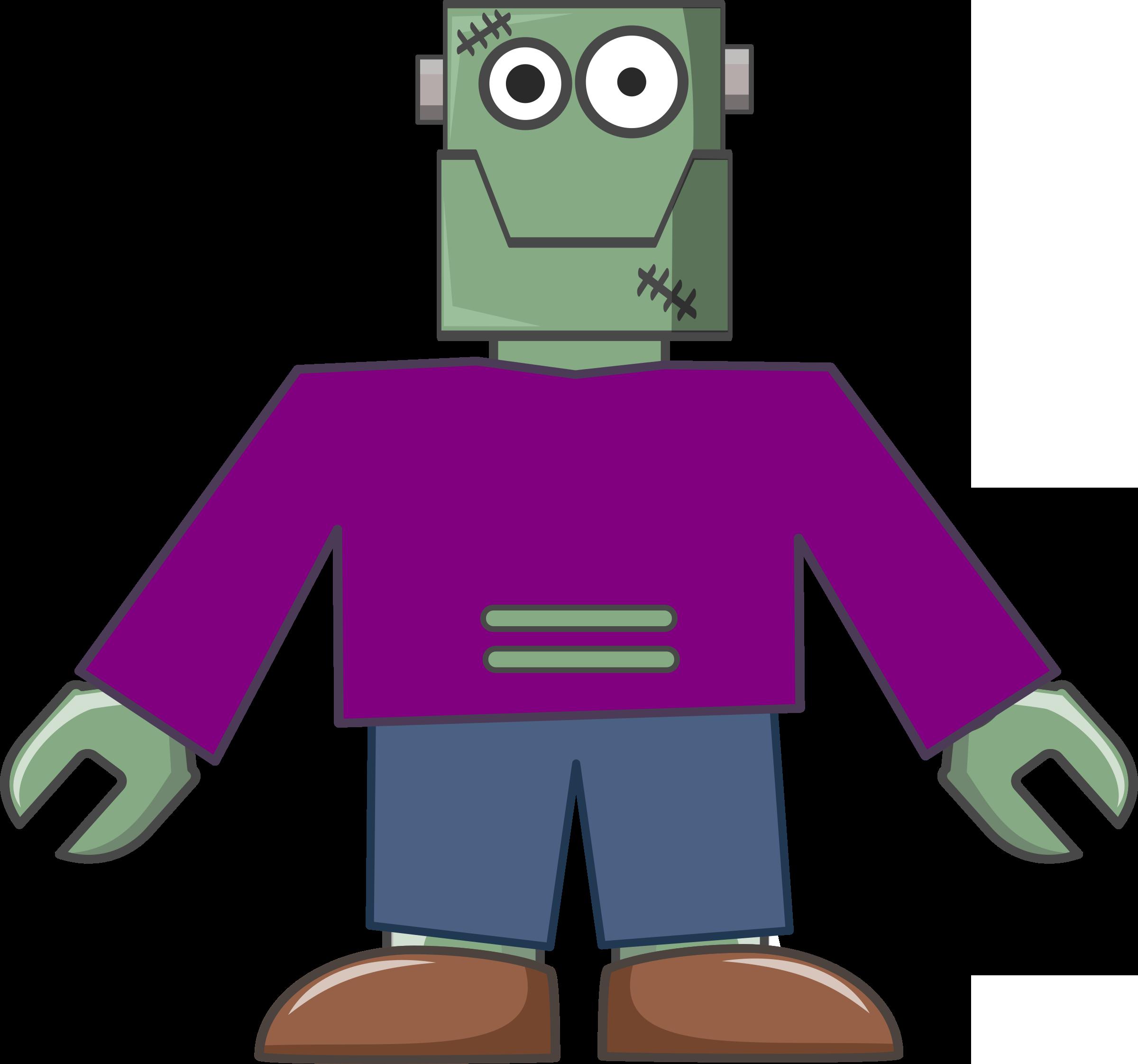 Frankenstein Robot Vector Clipart - Free Public Domain Stock Photo ...