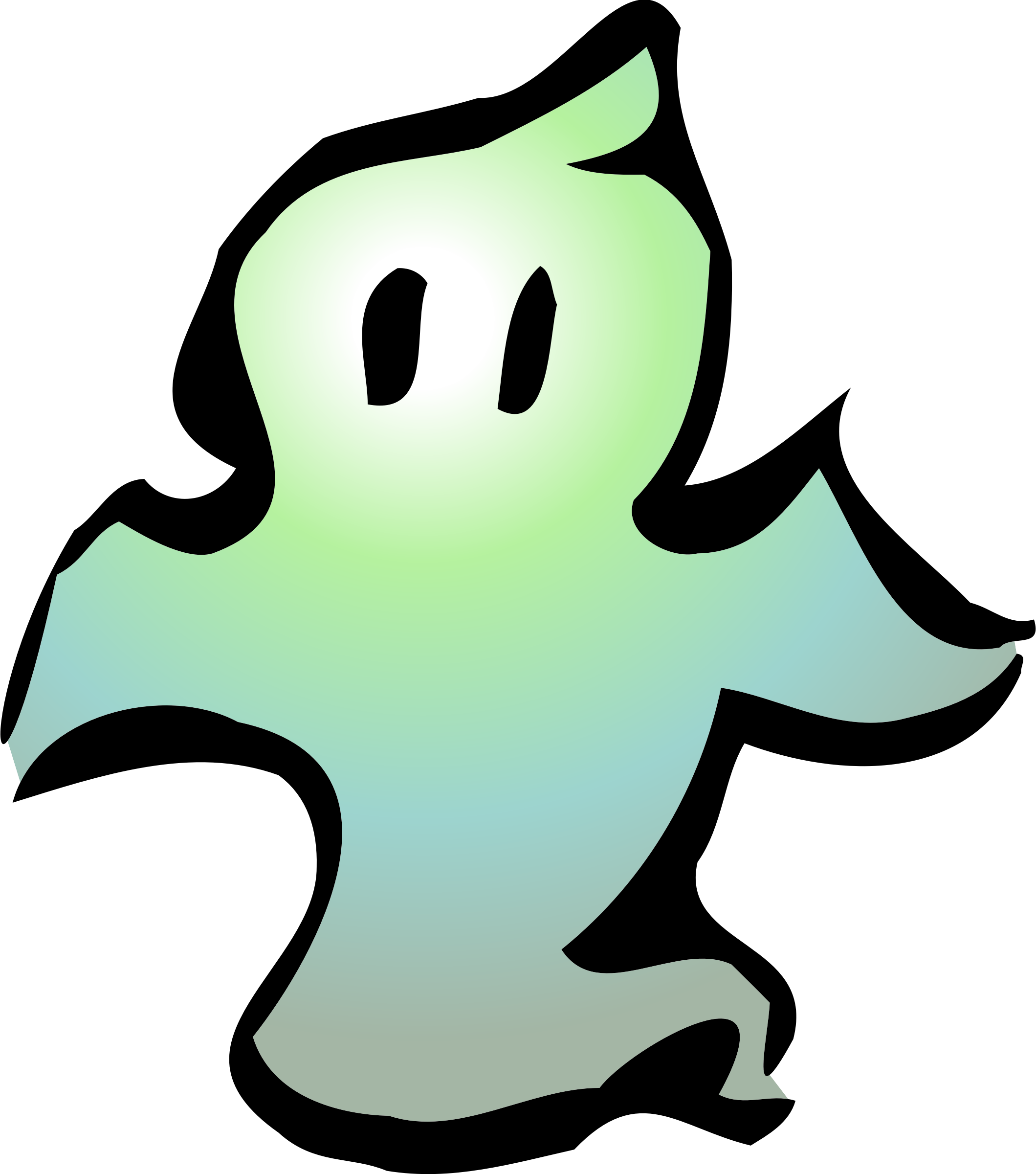 ghost clipart vector domain cliparts cc0