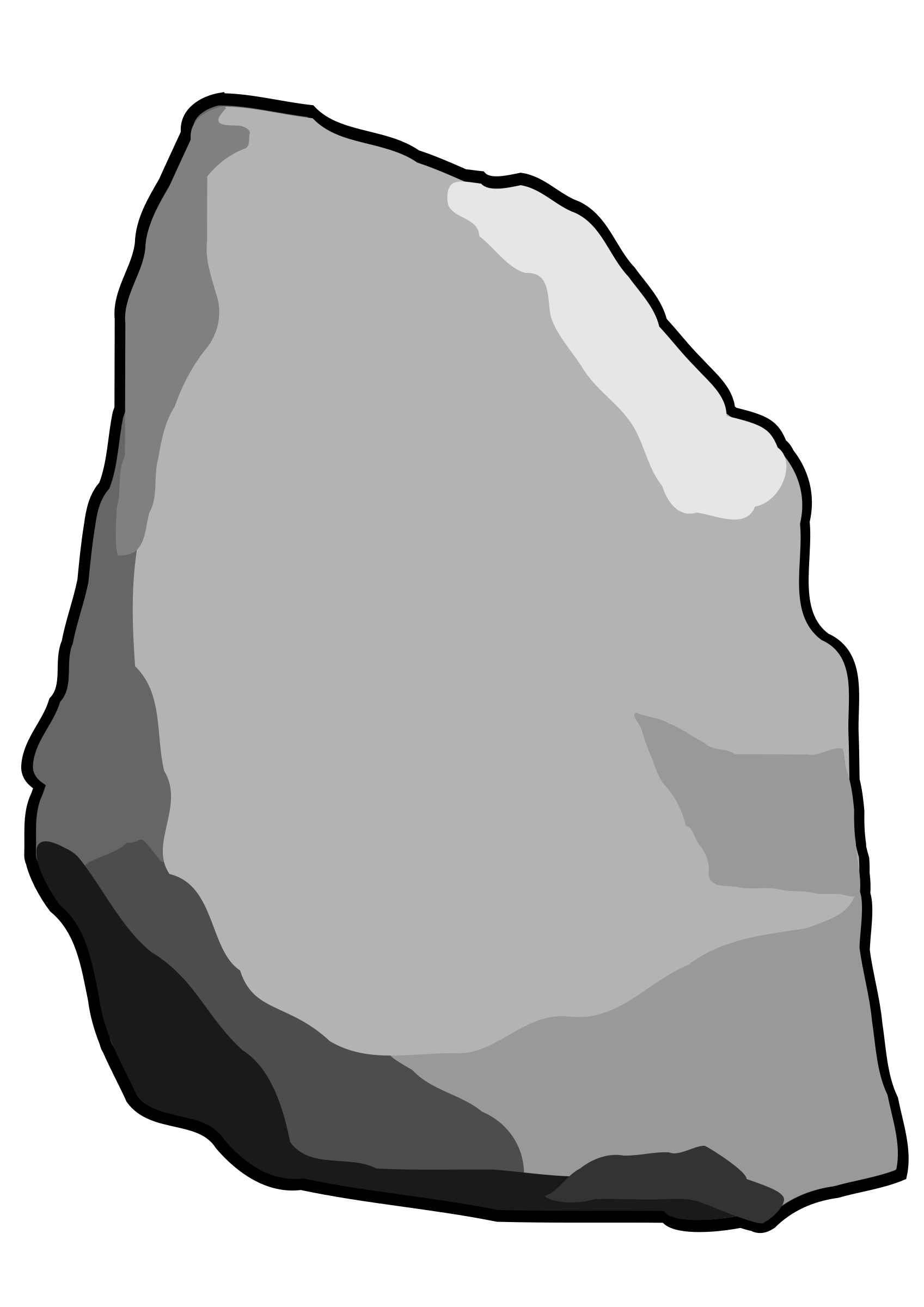grey stone rock vector clipart image free stock photo public rh goodfreephotos com rock clipart desert stone free clipart of rocks