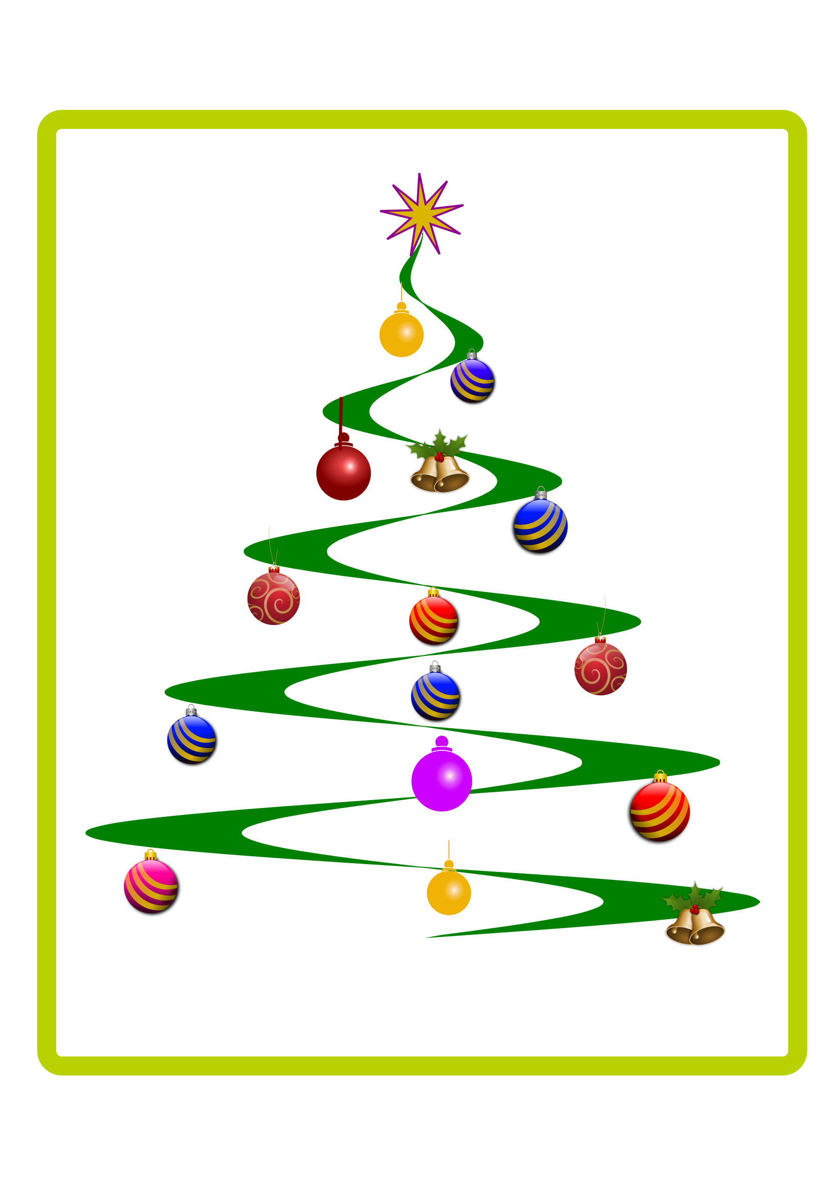 christmas clipart vector - photo #33