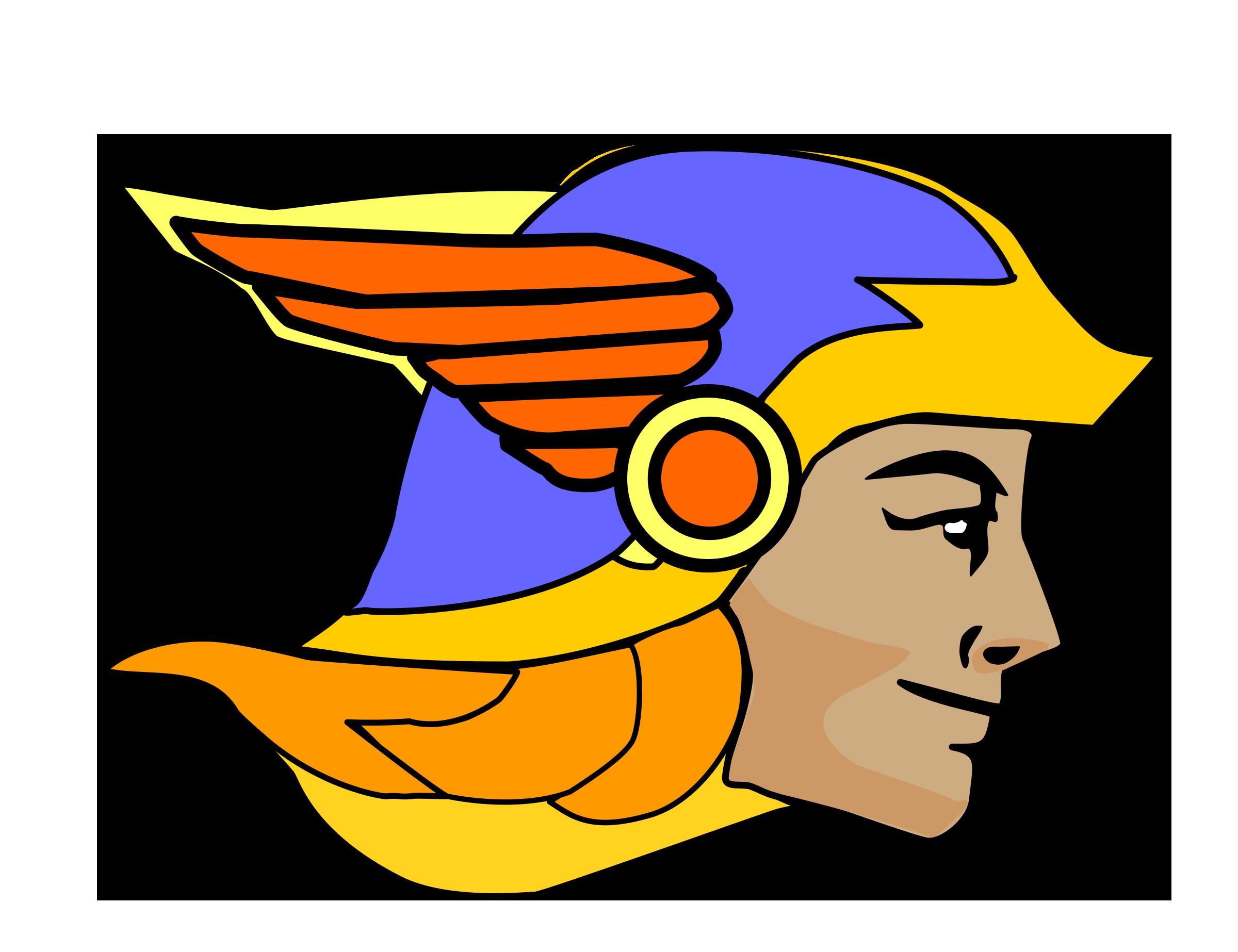Hermes the messenger god vector clipart image free stock photo png  2400x1846 Hermes hat symbol 593b48ffdb1d