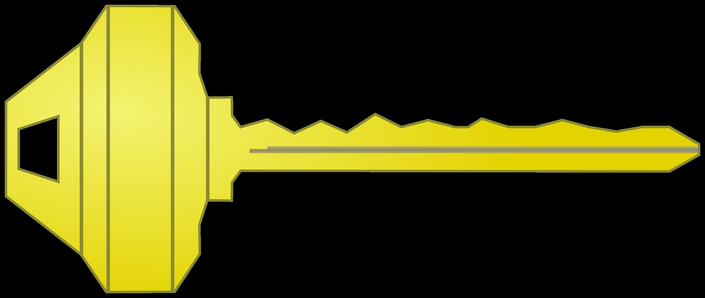 House Key Vector Clipart image - Free stock photo - Public ...