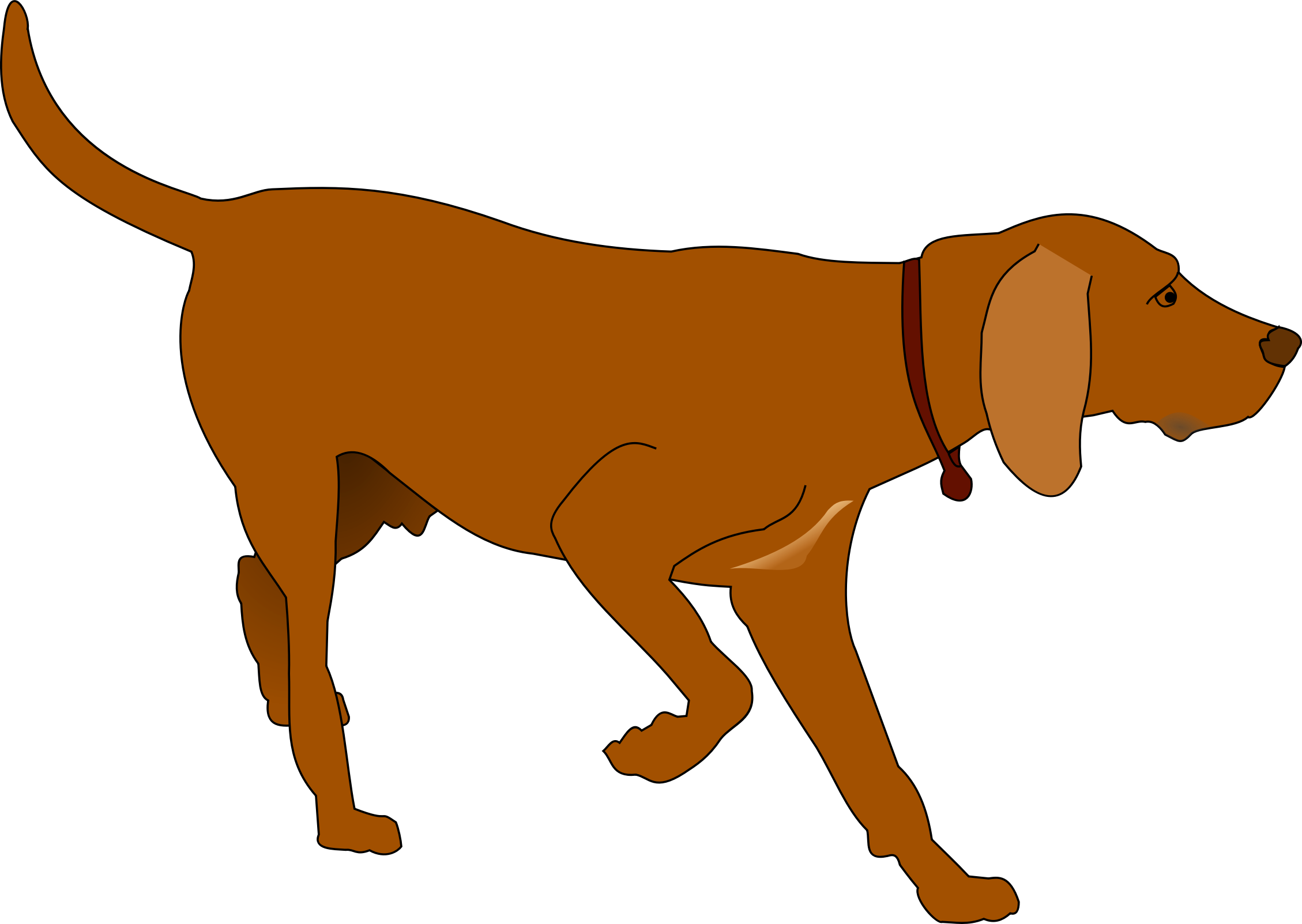 hunting dog vector clipart image free stock photo public domain rh goodfreephotos com dog vector free dog vector images