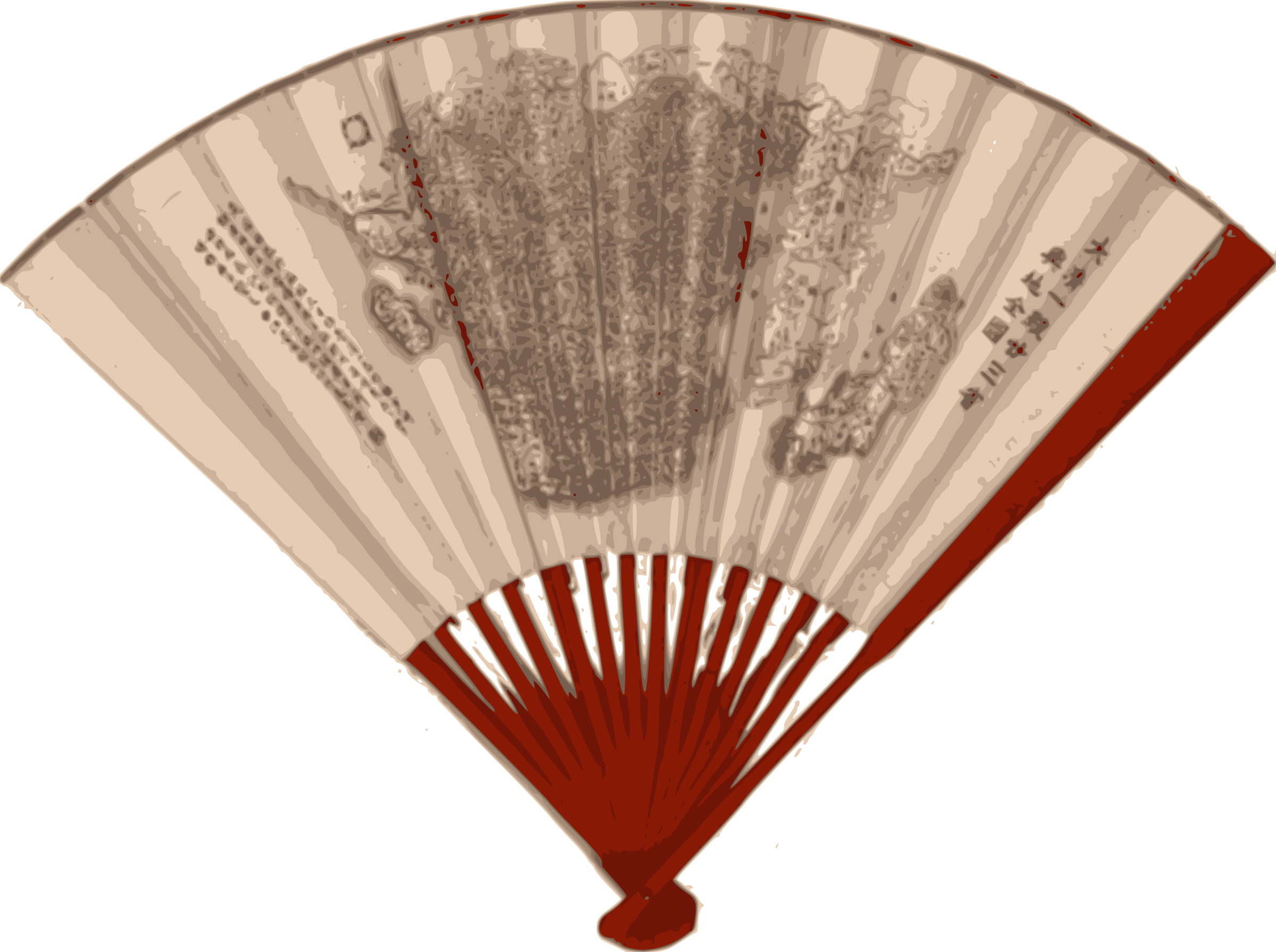 Japanese Fan Vector Clipart image - Free stock photo ...