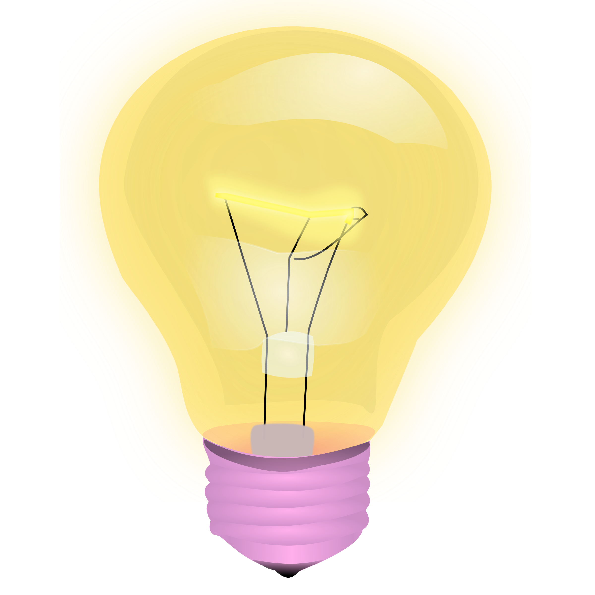 Light Bulb Vector Clipart image - Free stock photo ...