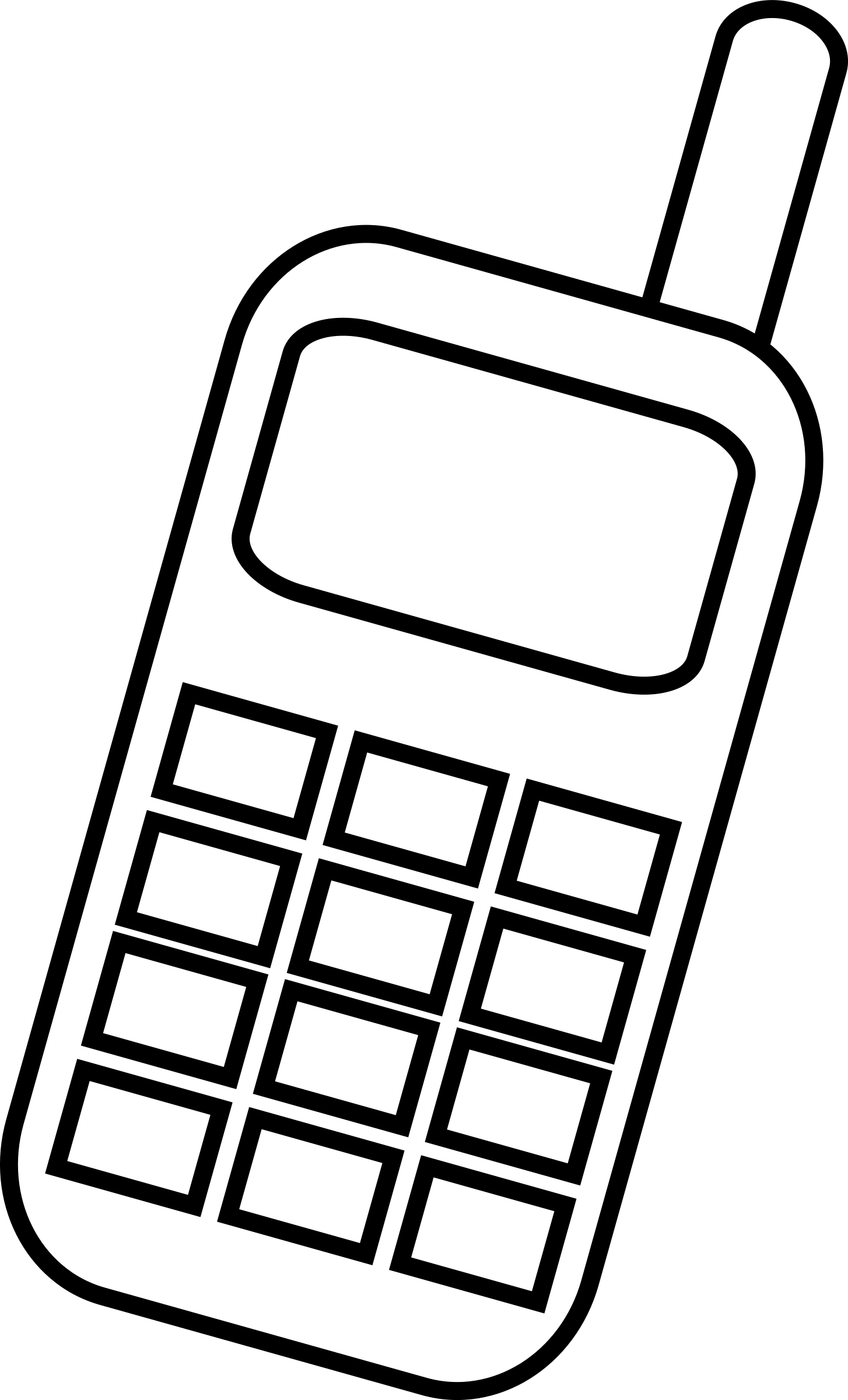 clipart cell phone use - photo #30