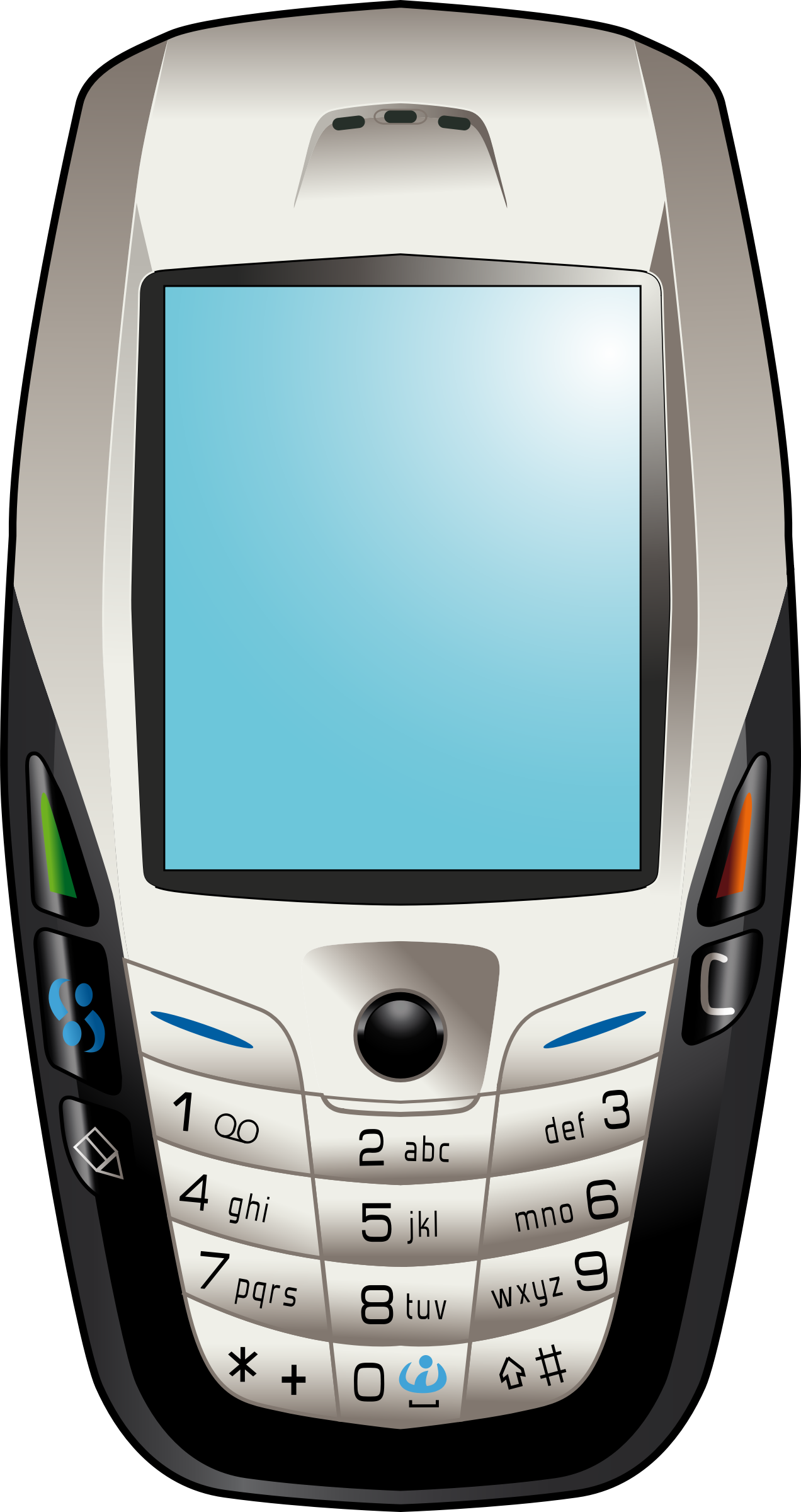 Mobile Phone Vector Clipart image - Free stock photo ...