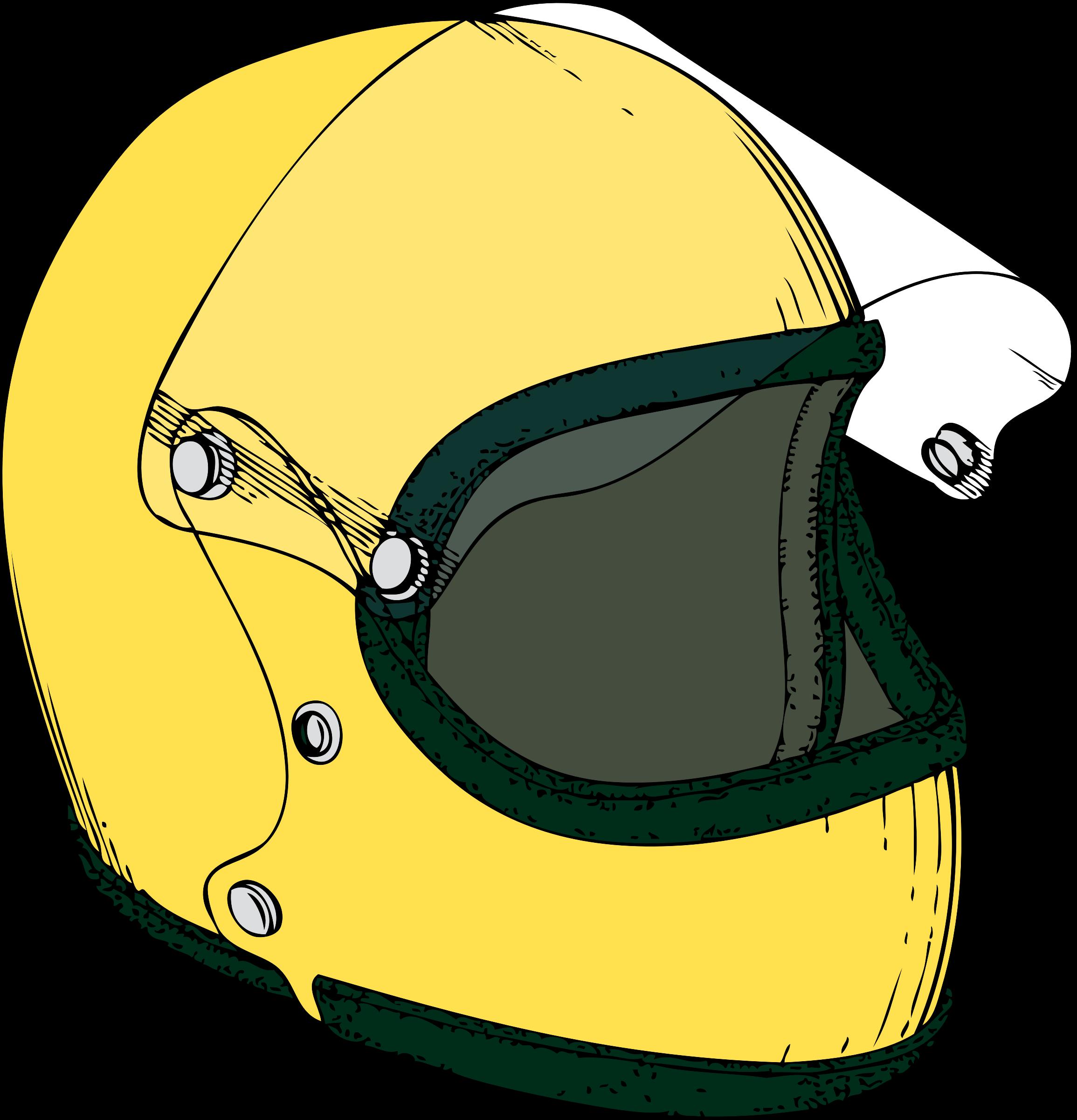 Motorcycle Crash Helmet Vector Clipart image - Free stock ...
