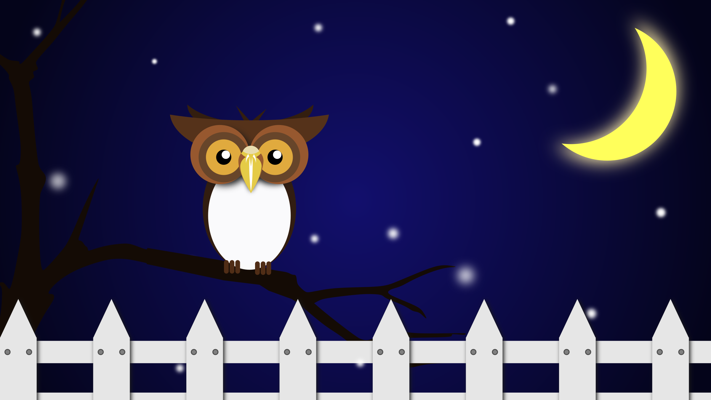 Night Owl Vector Clipart Image Free Stock Photo Public