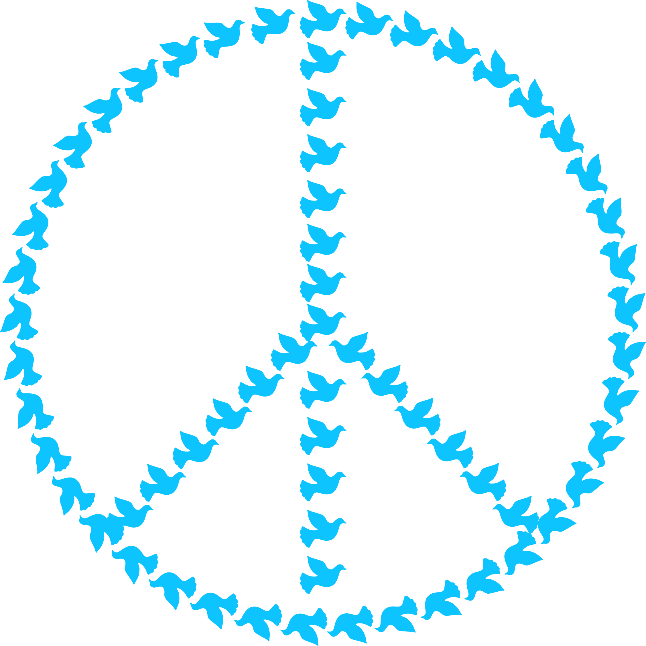 Free stock photo of peace sign with doves vector clipart public a peace sign made of doves graphic by gdj buycottarizona