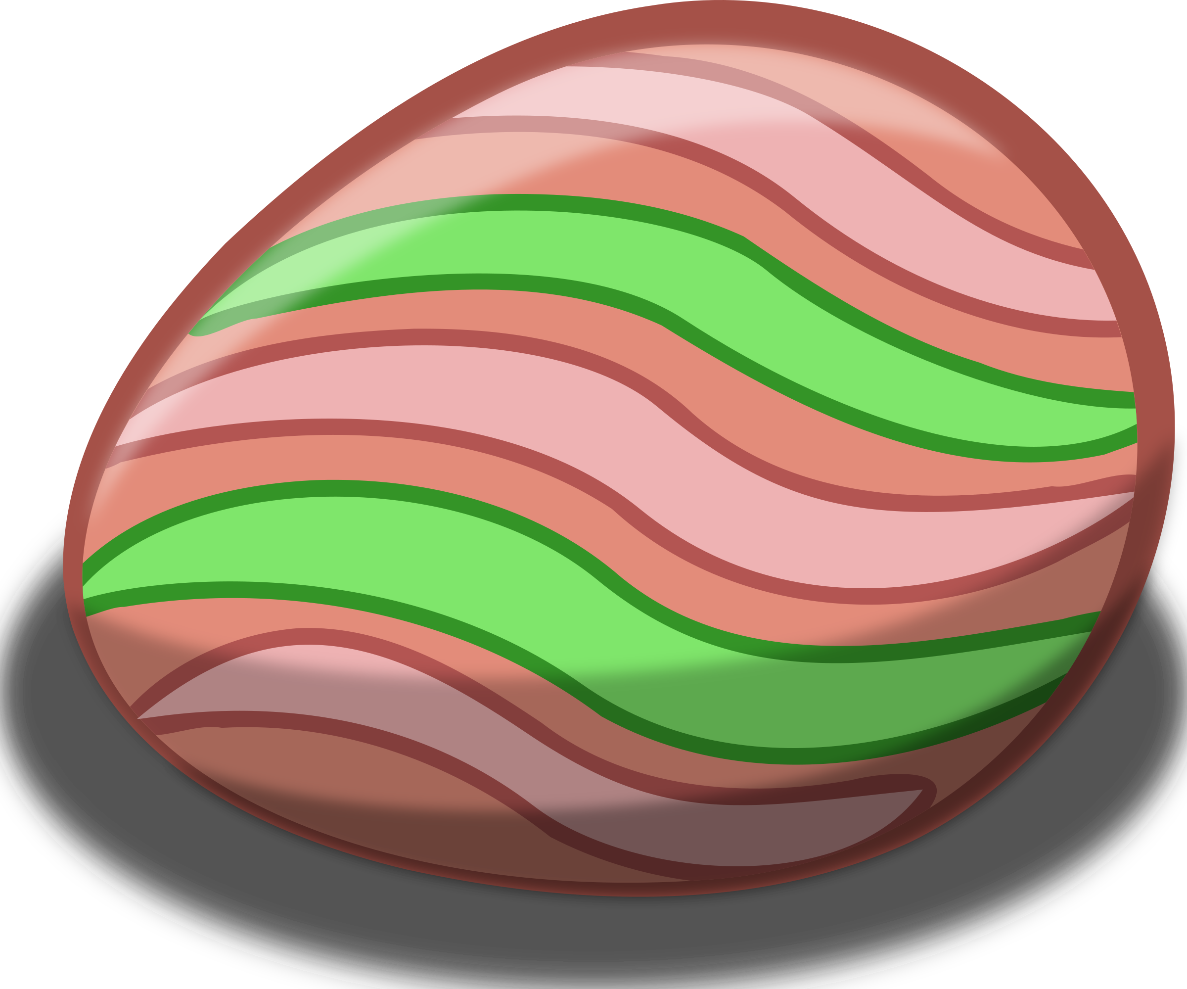free stock photo of pink and green easter egg vector clipart