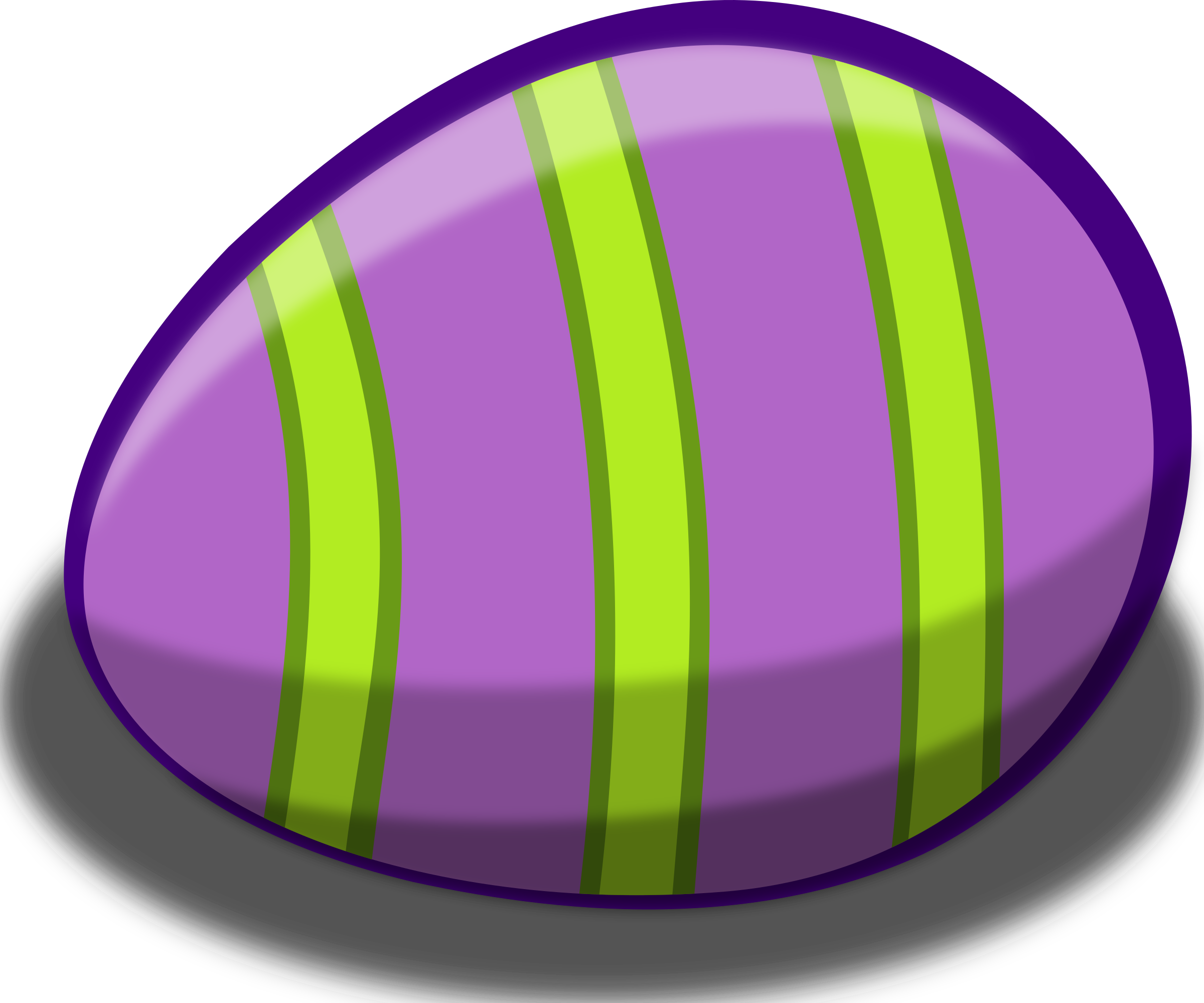 free stock photo of purple striped easter egg vector clipart