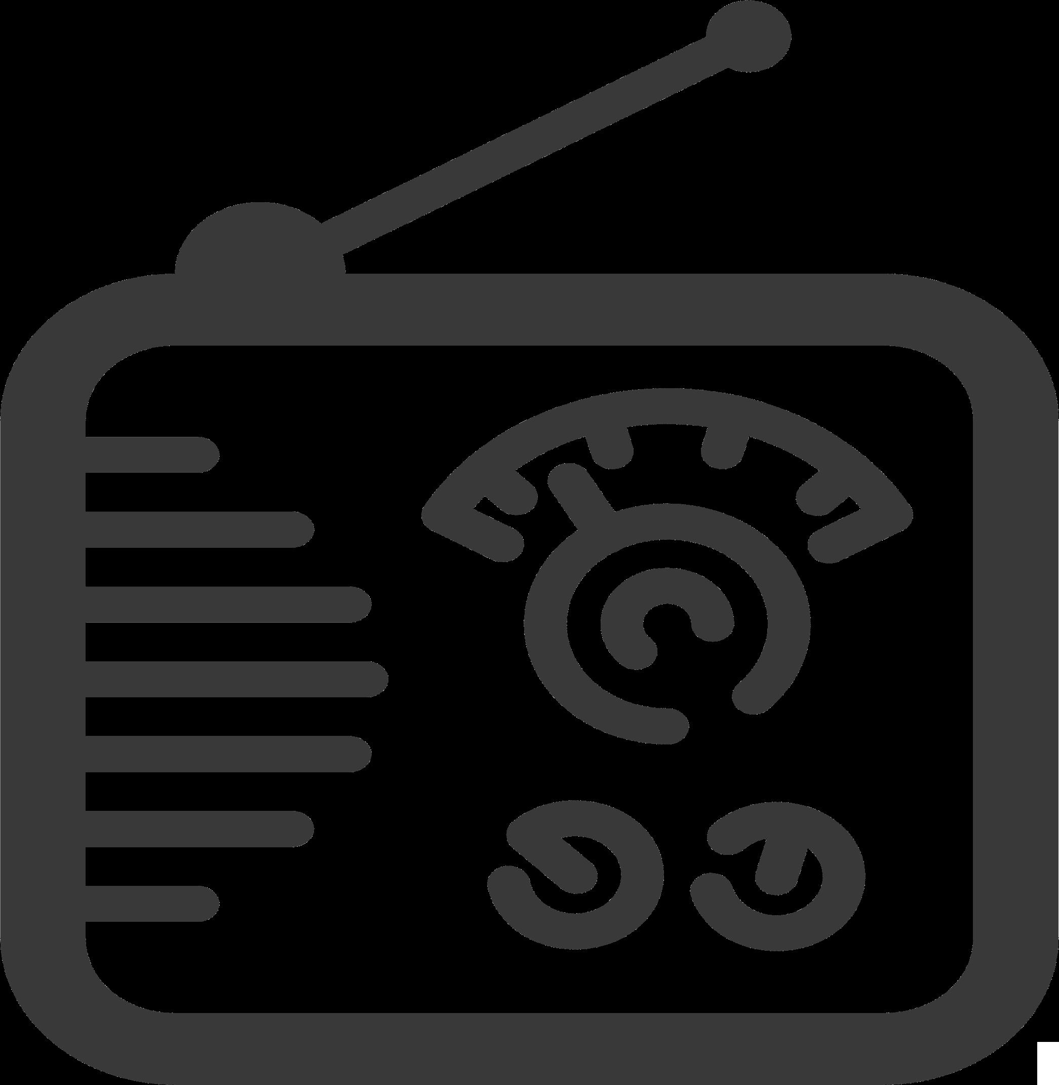 Radio Icon Vector Clipart image - Free stock photo - Public Domain ...