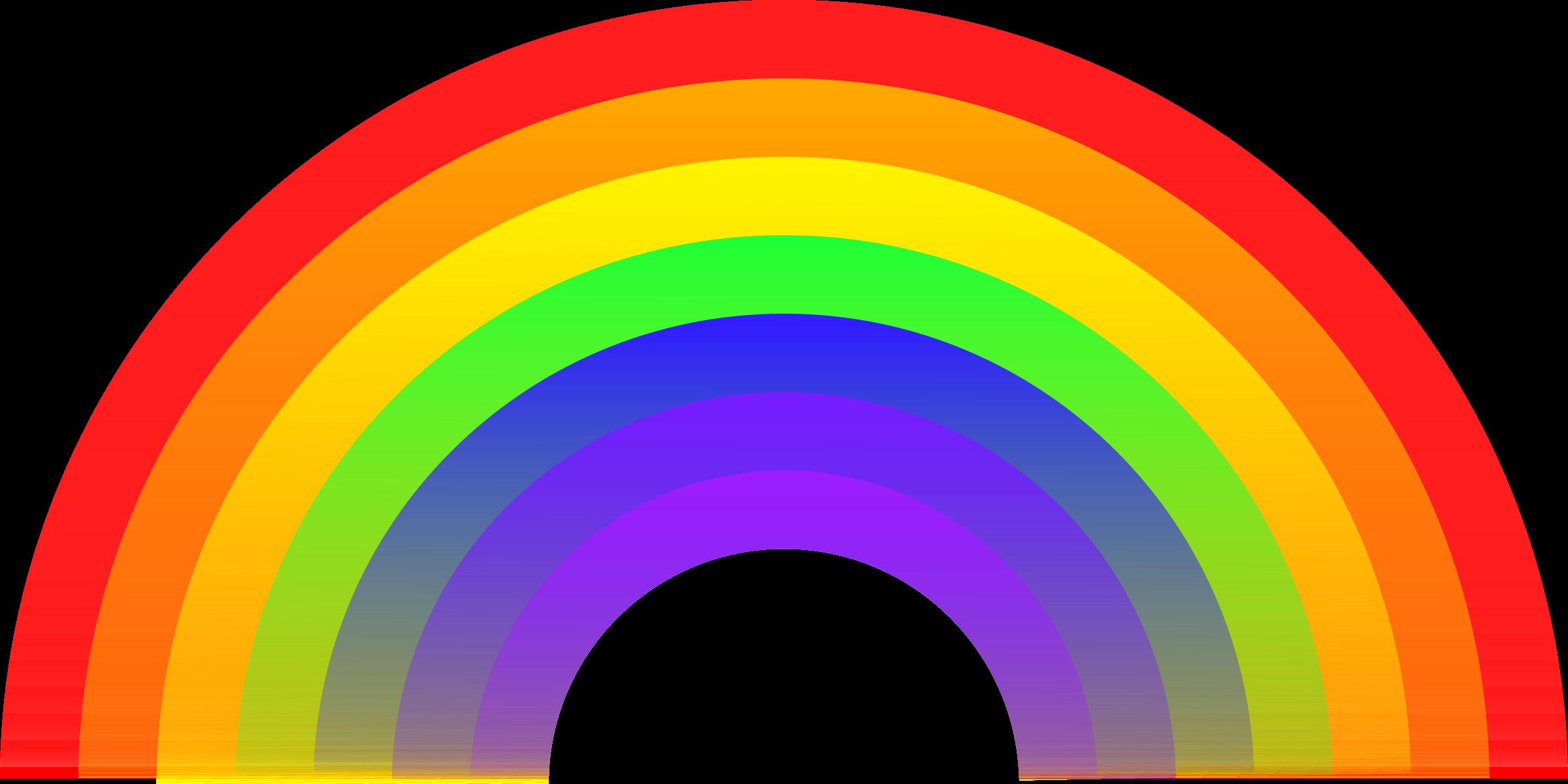 Warna-warna yang ada pada pelangi