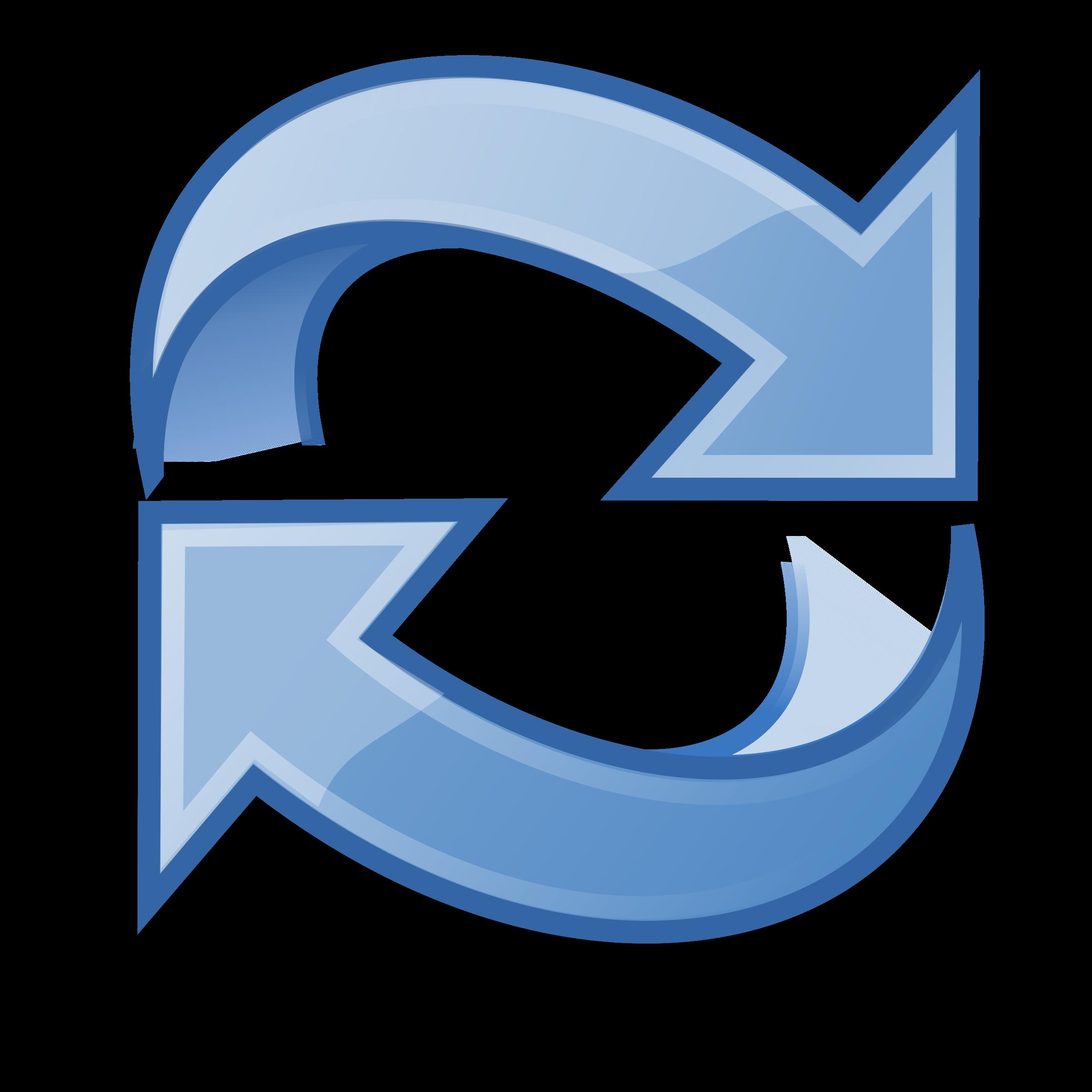 Refresh icon clip art