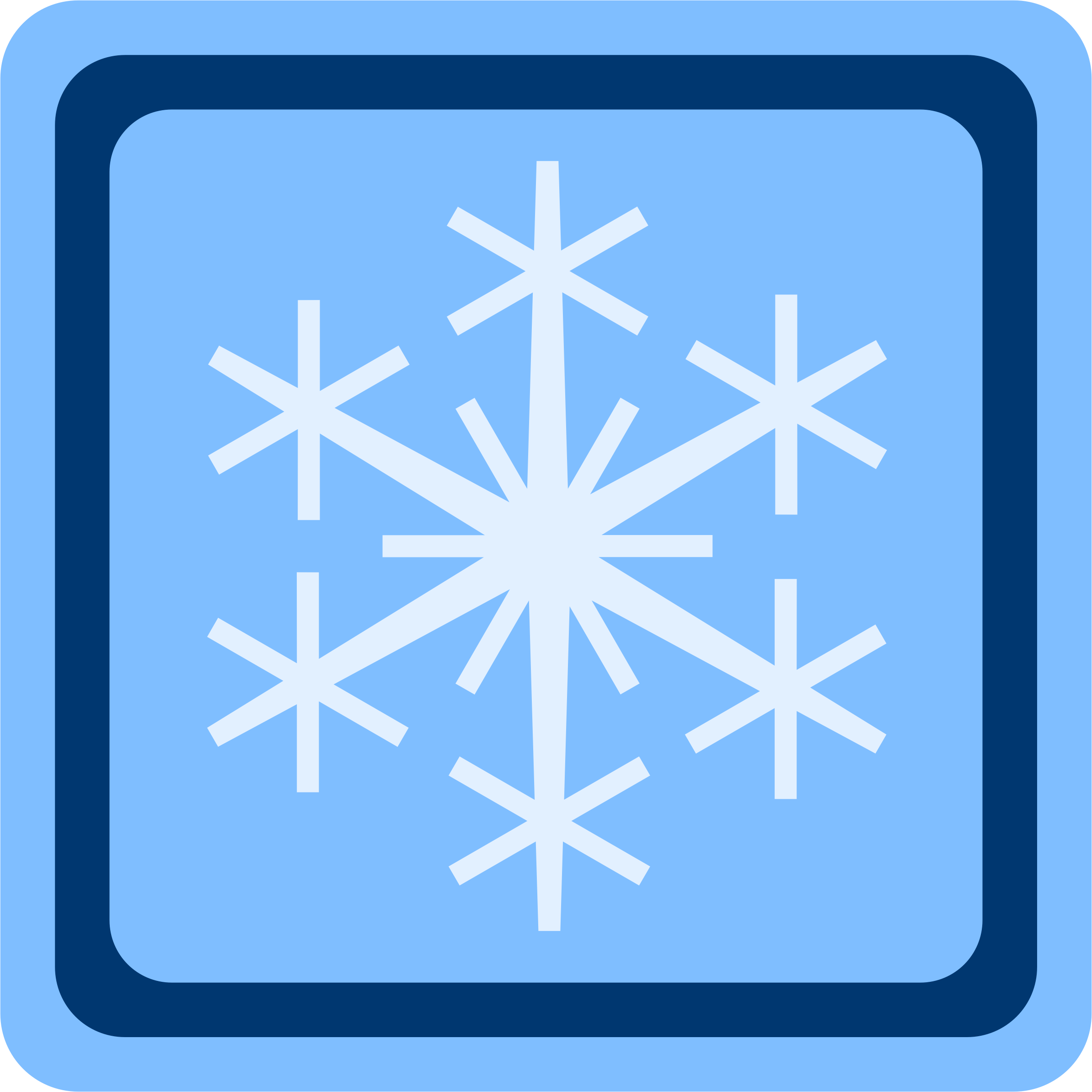 Snow Symbol Vector Clipart Image Free Stock Photo Public Domain